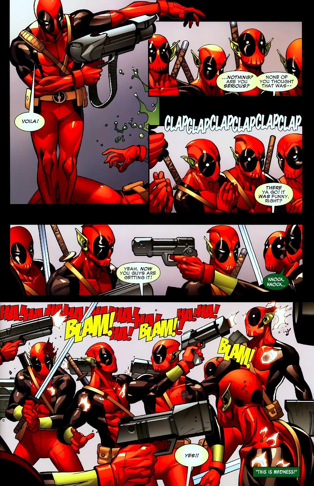 Read online Deadpool (2008) comic -  Issue #2 - 20
