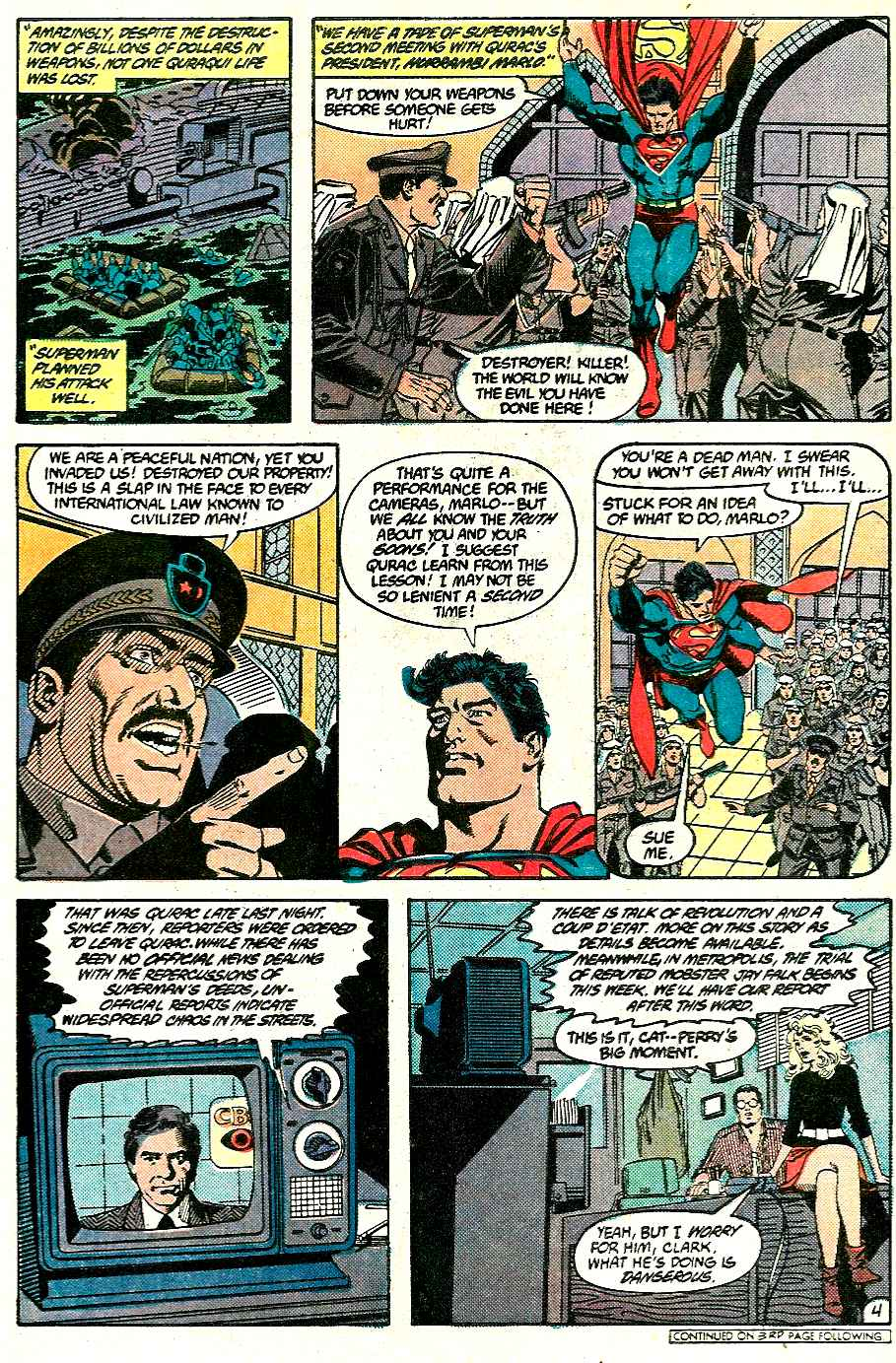 Read online Adventures of Superman (1987) comic -  Issue #428 - 4
