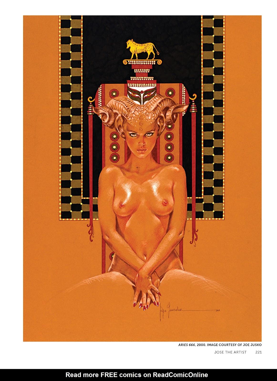 Read online The Art of Jose Gonzalez comic -  Issue # TPB (Part 3) - 24
