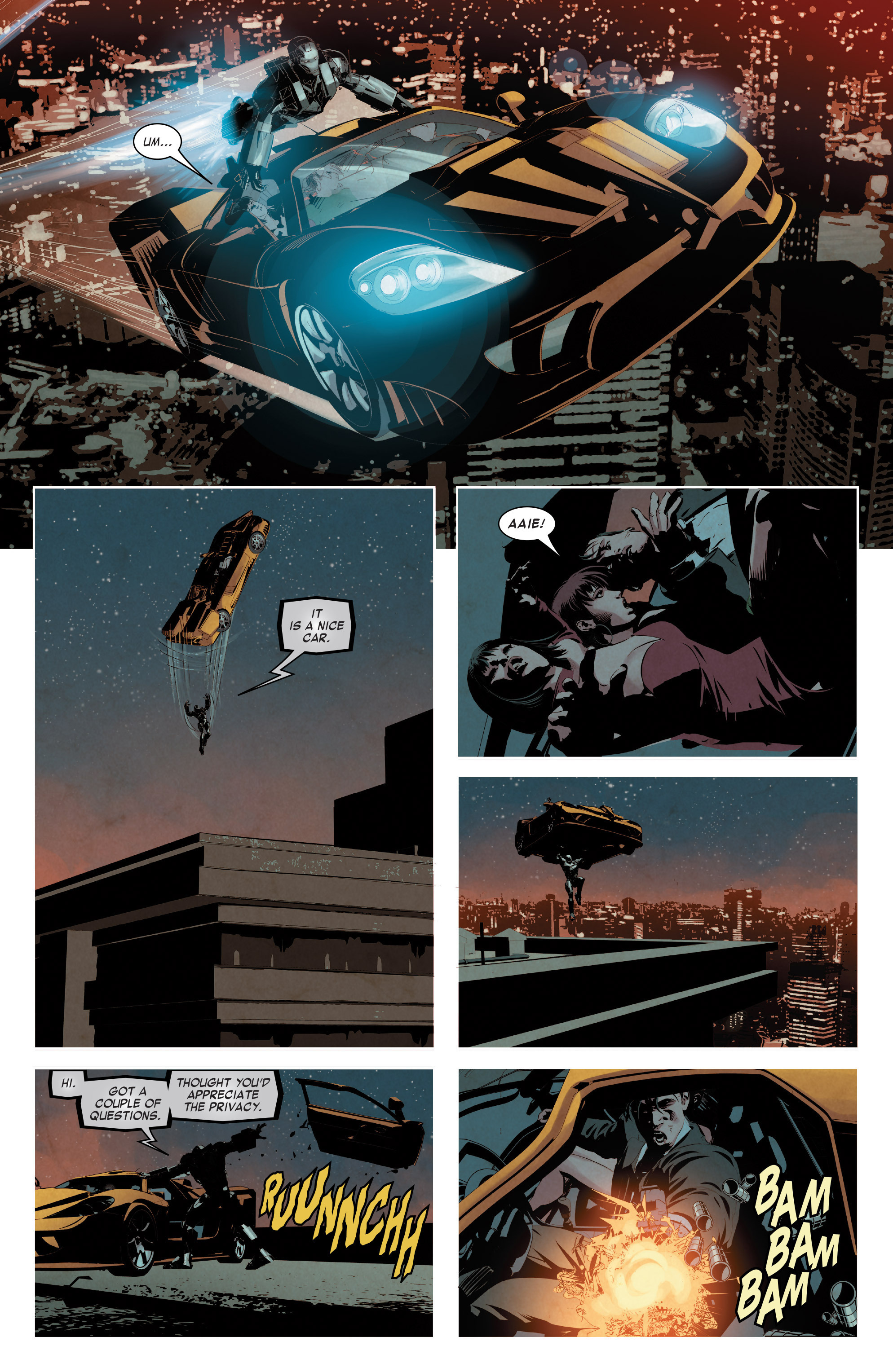 Read online True Believers: Invincible Iron Man-The War Machines comic -  Issue # Full - 21