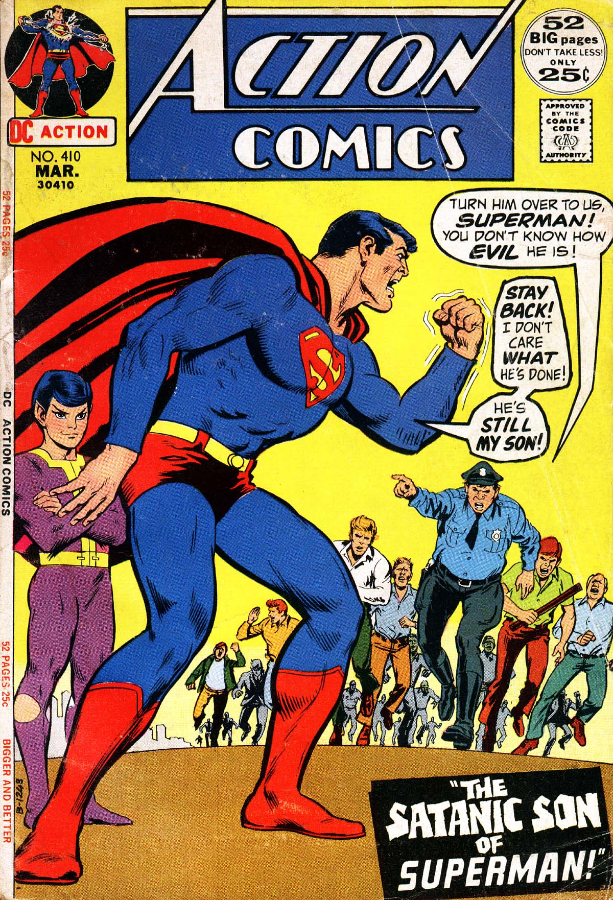 Read online Action Comics (1938) comic -  Issue #410 - 1
