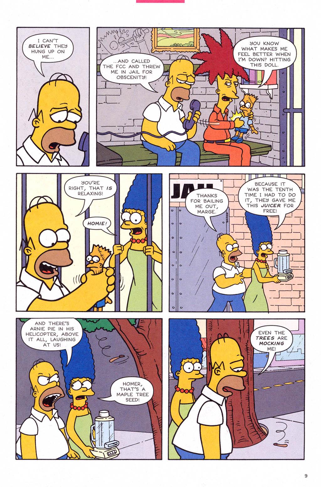 Read online Simpsons Comics comic -  Issue #109 - 10