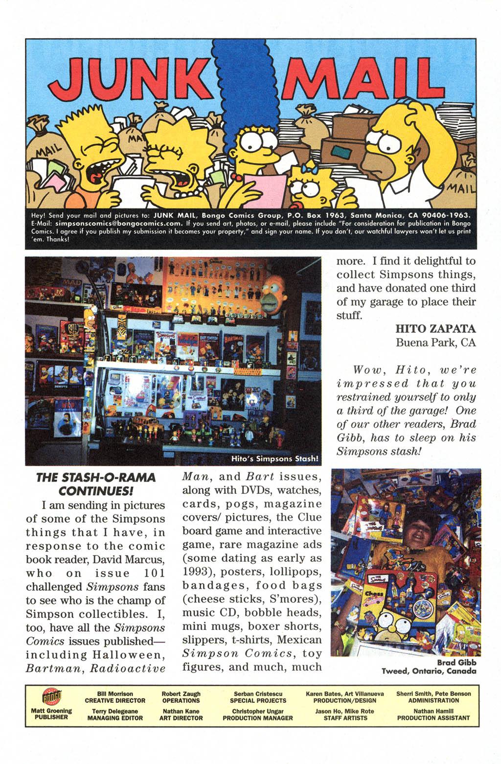 Read online Simpsons Comics comic -  Issue #108 - 29