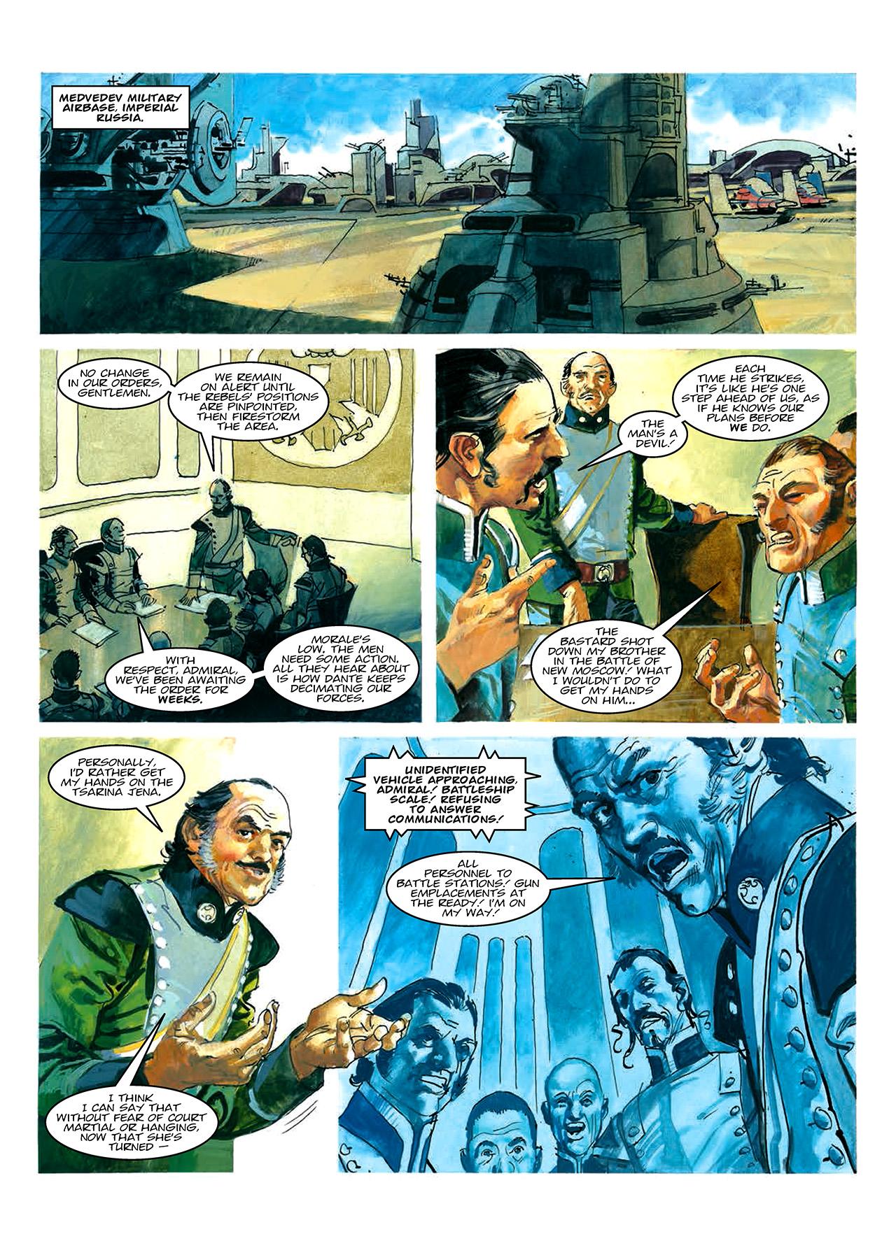 Read online Nikolai Dante comic -  Issue # TPB 10 - 13