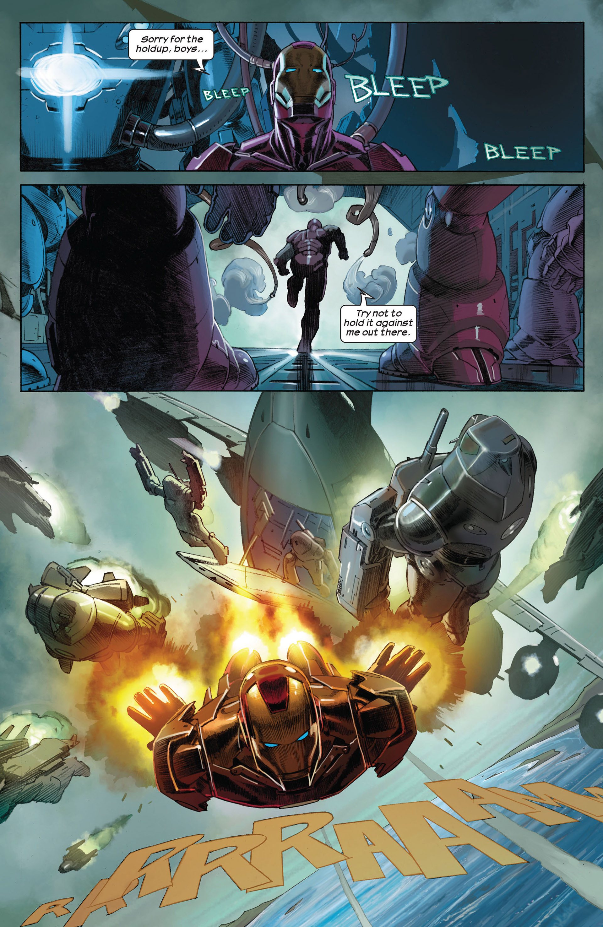 Read online Ultimate Comics Ultimates comic -  Issue #1 - 9