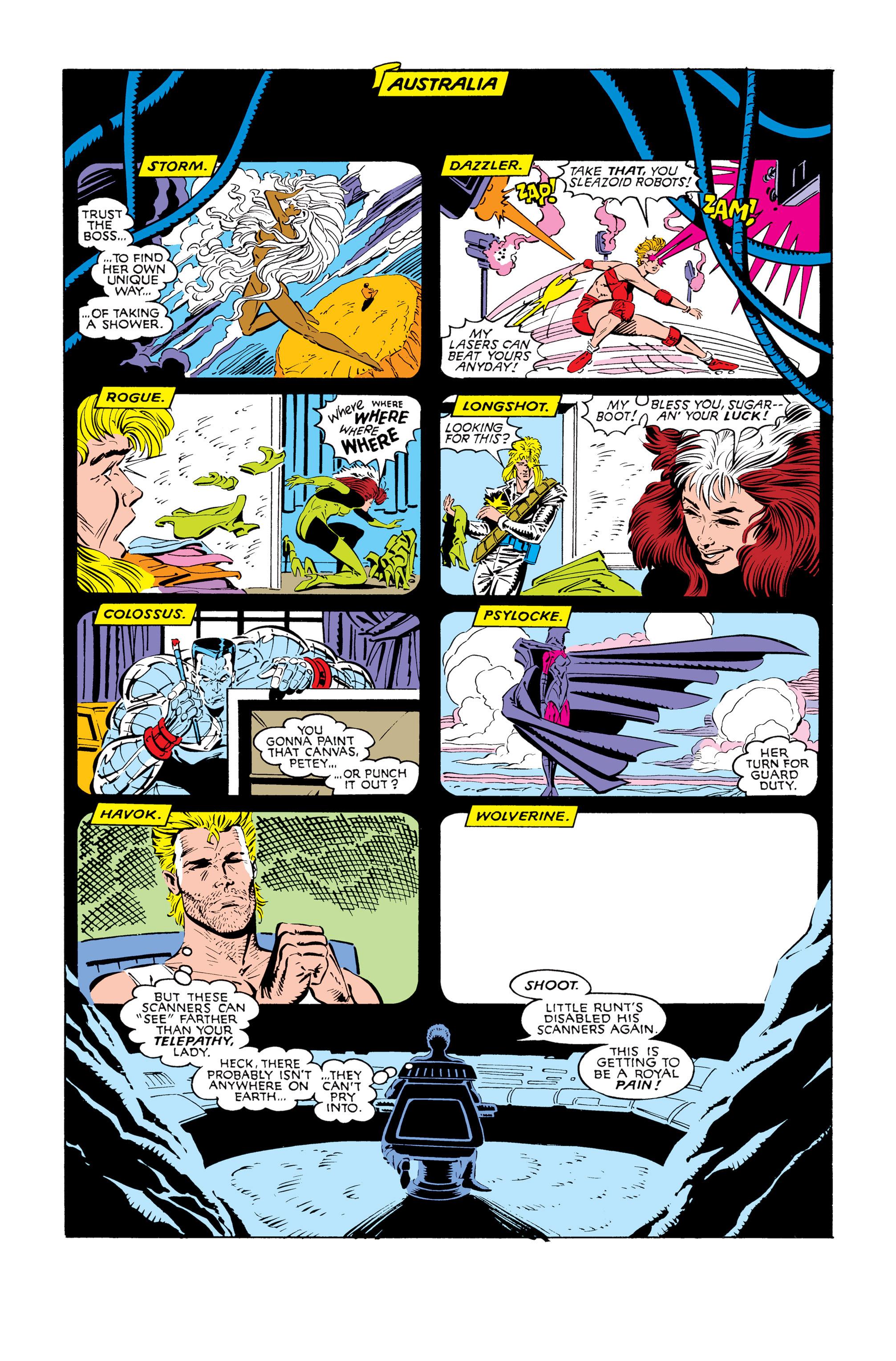 Read online Uncanny X-Men (1963) comic -  Issue #245 - 4