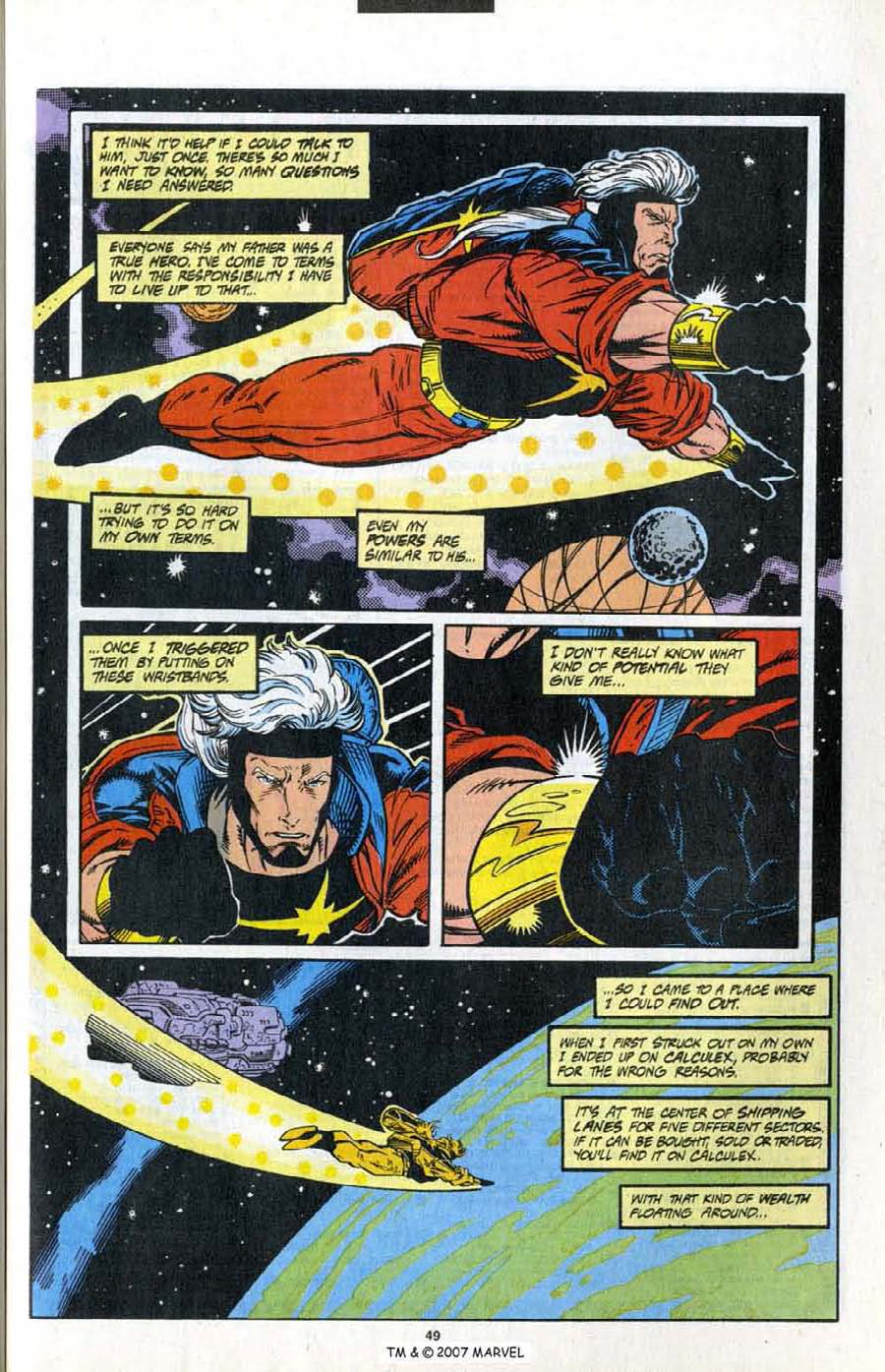 Read online Silver Surfer (1987) comic -  Issue # _Annual 7 - 51
