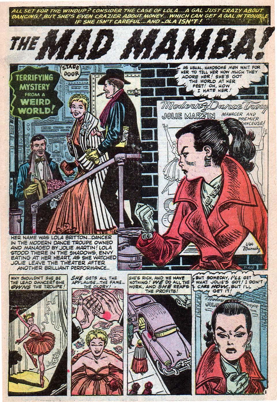 Read online Adventures into Weird Worlds comic -  Issue #25 - 8
