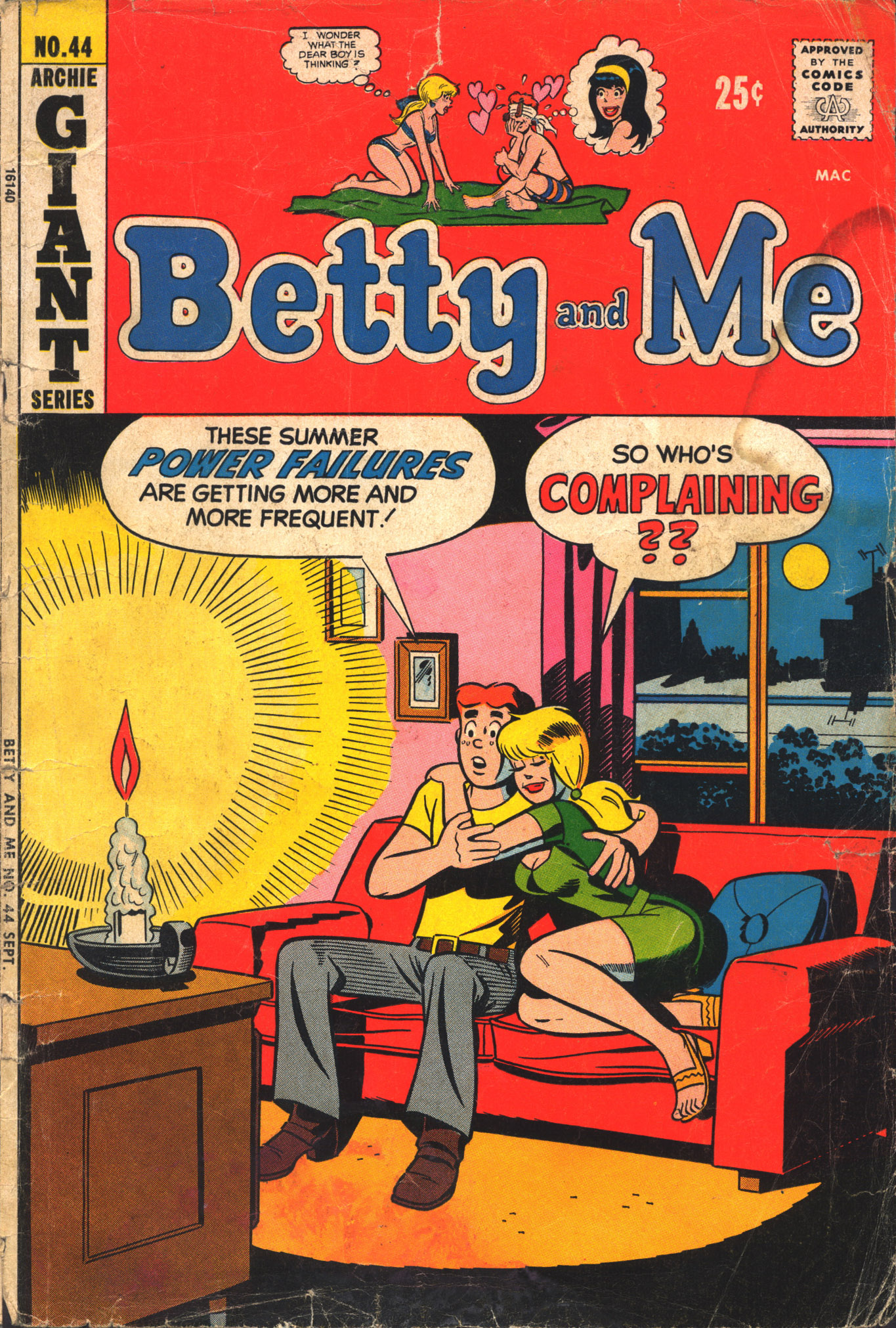 Betty and Me 44 Page 1