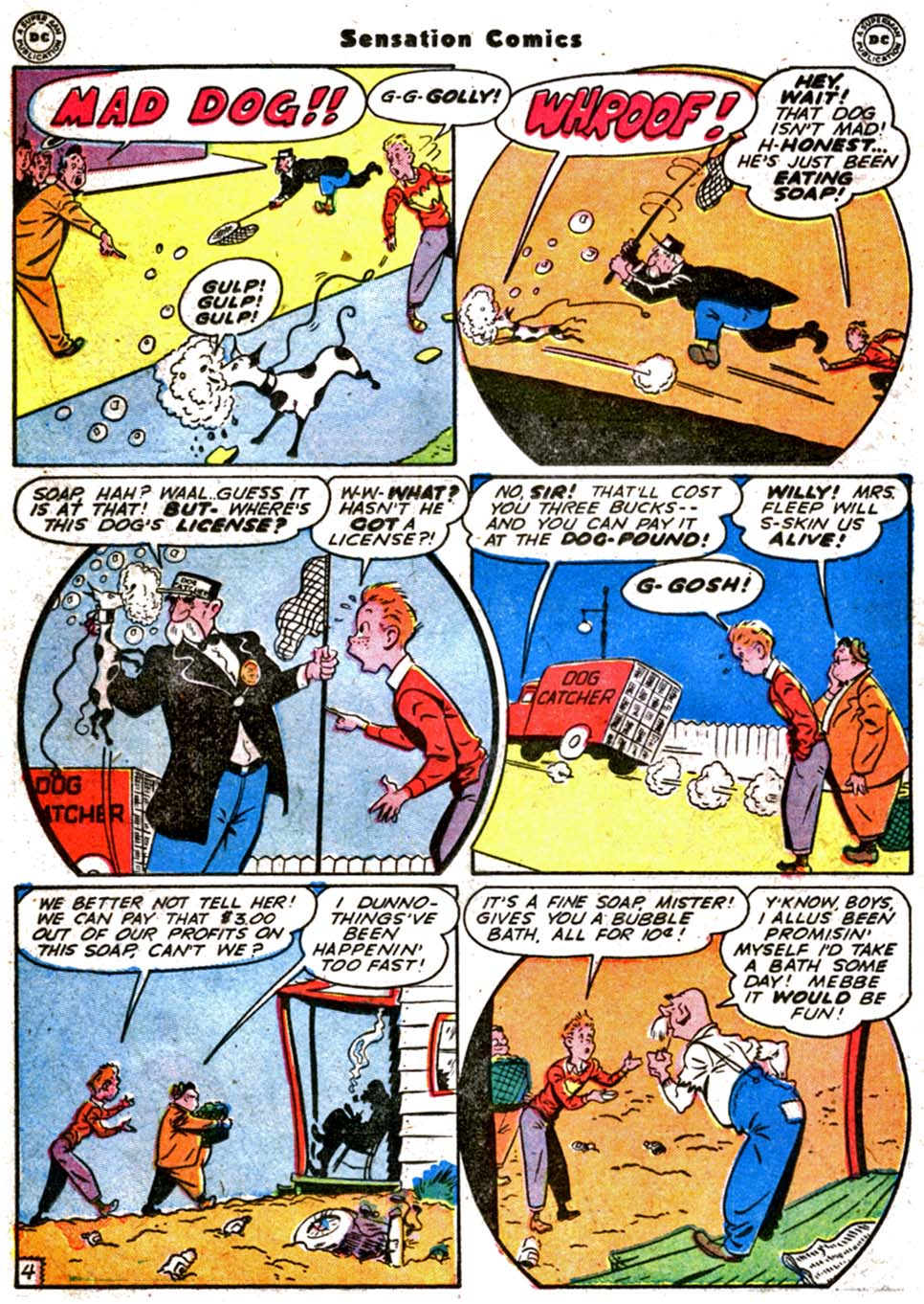 Read online Sensation (Mystery) Comics comic -  Issue #64 - 26