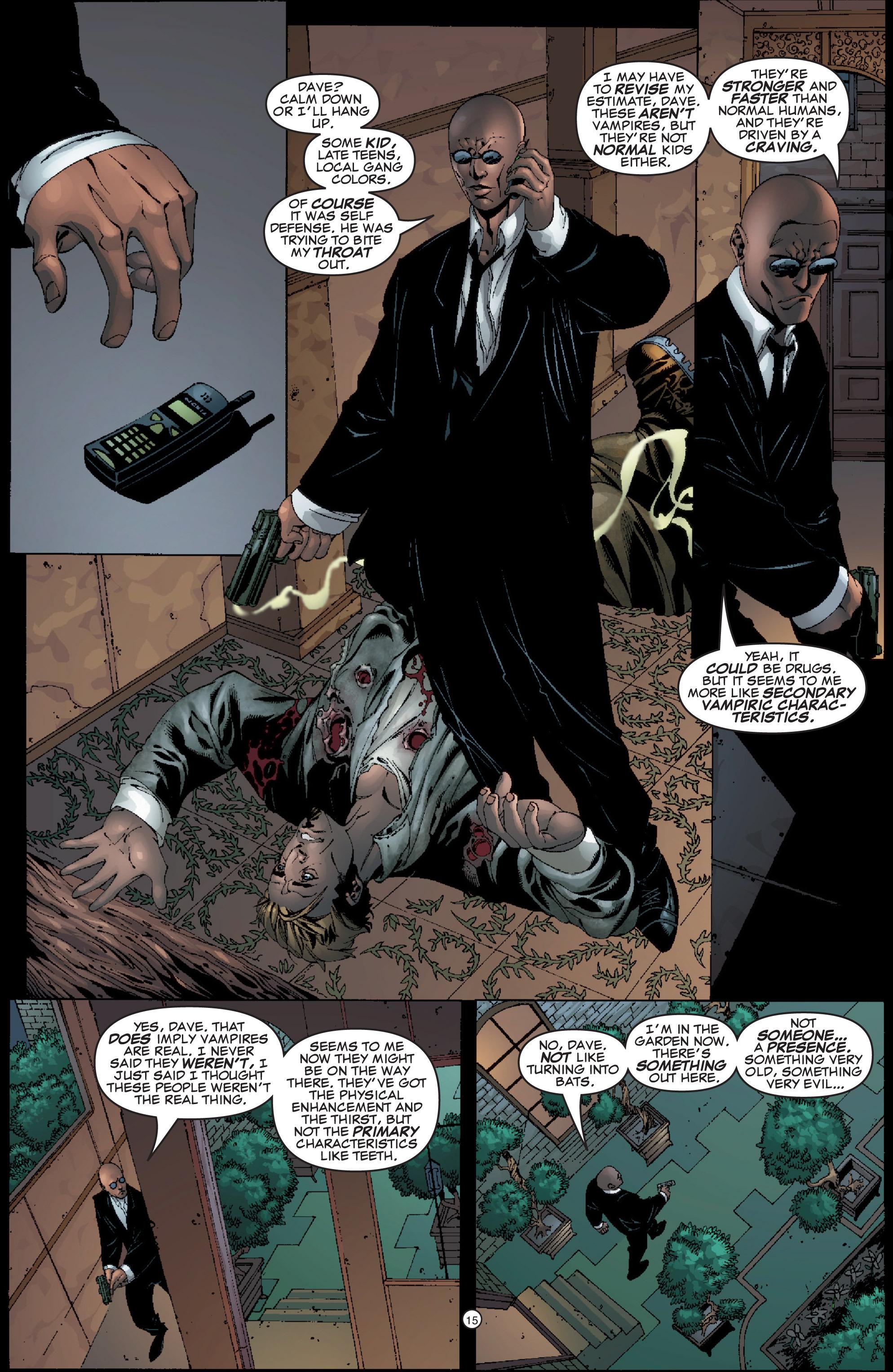 Read online Shadowman (1999) comic -  Issue #5 - 17