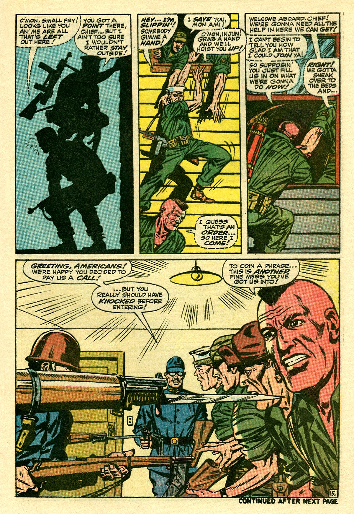 Captain Savage and his Leatherneck Raiders issue 8 - Page 21