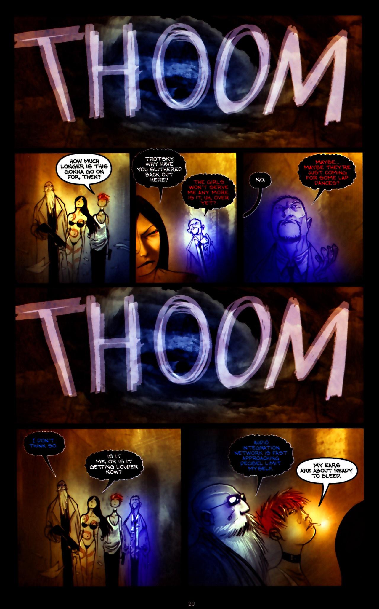 Read online Wormwood: Gentleman Corpse comic -  Issue #9 - 22