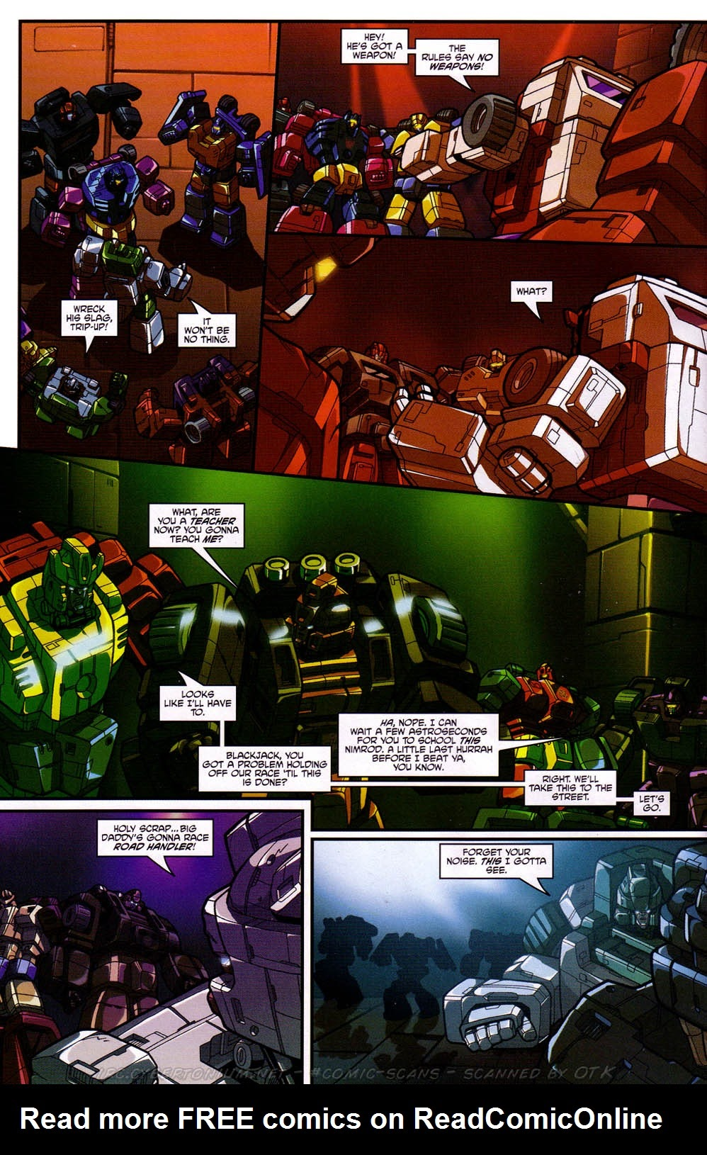 Read online Transformers: Micromasters comic -  Issue #2 - 17