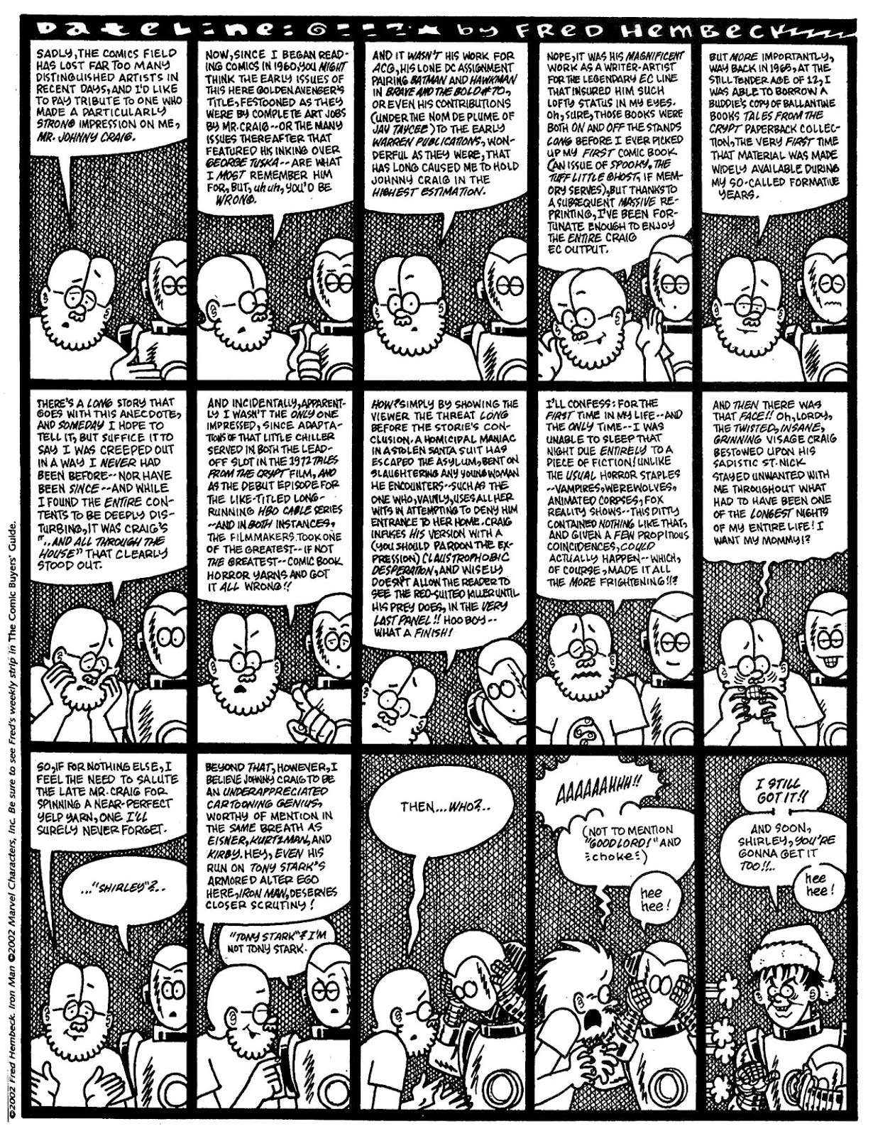 Read online The Nearly Complete Essential Hembeck Archives Omnibus comic -  Issue # TPB (Part 7) - 16