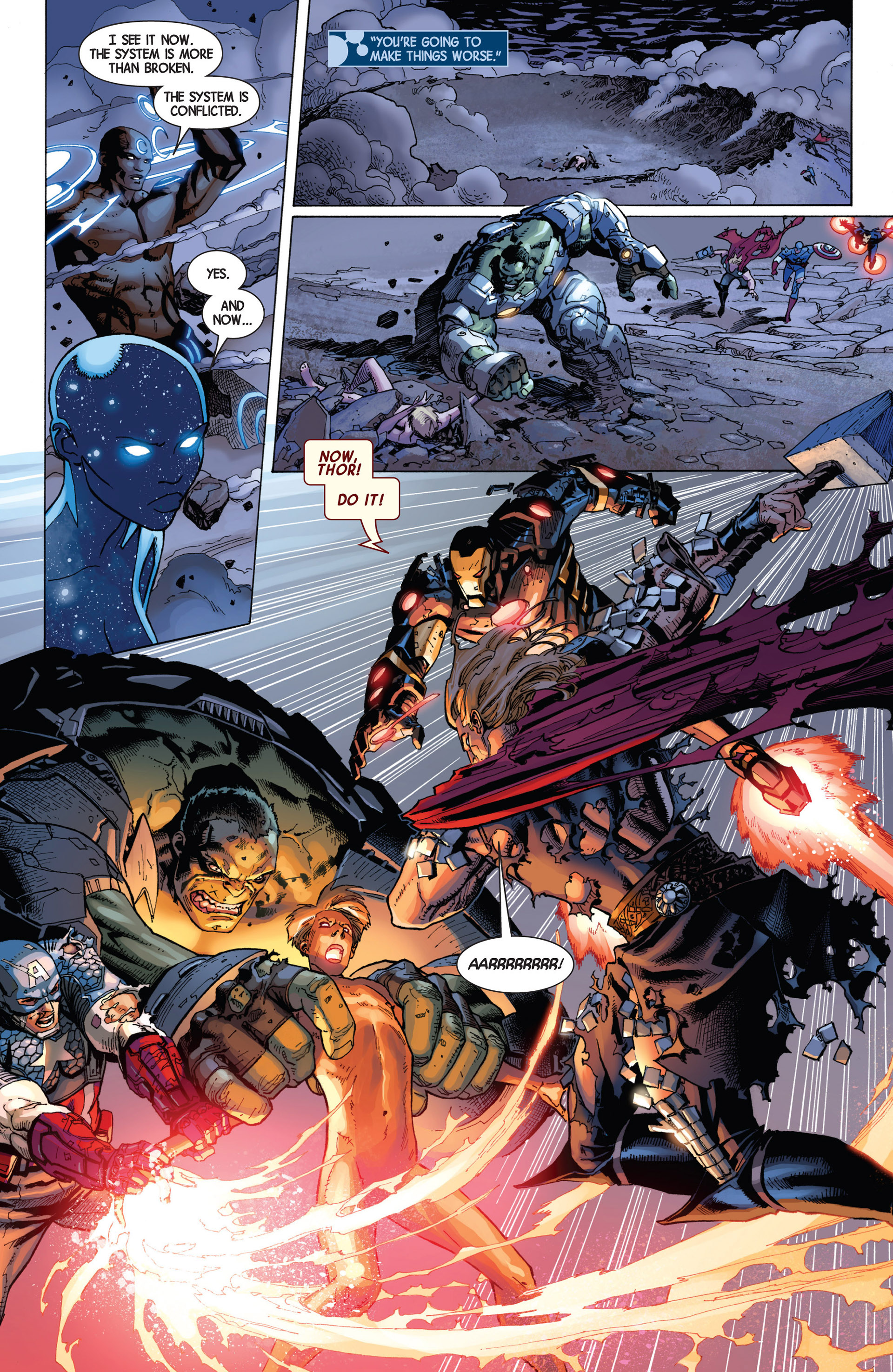 Read online Avengers (2013) comic -  Issue #8 - 16