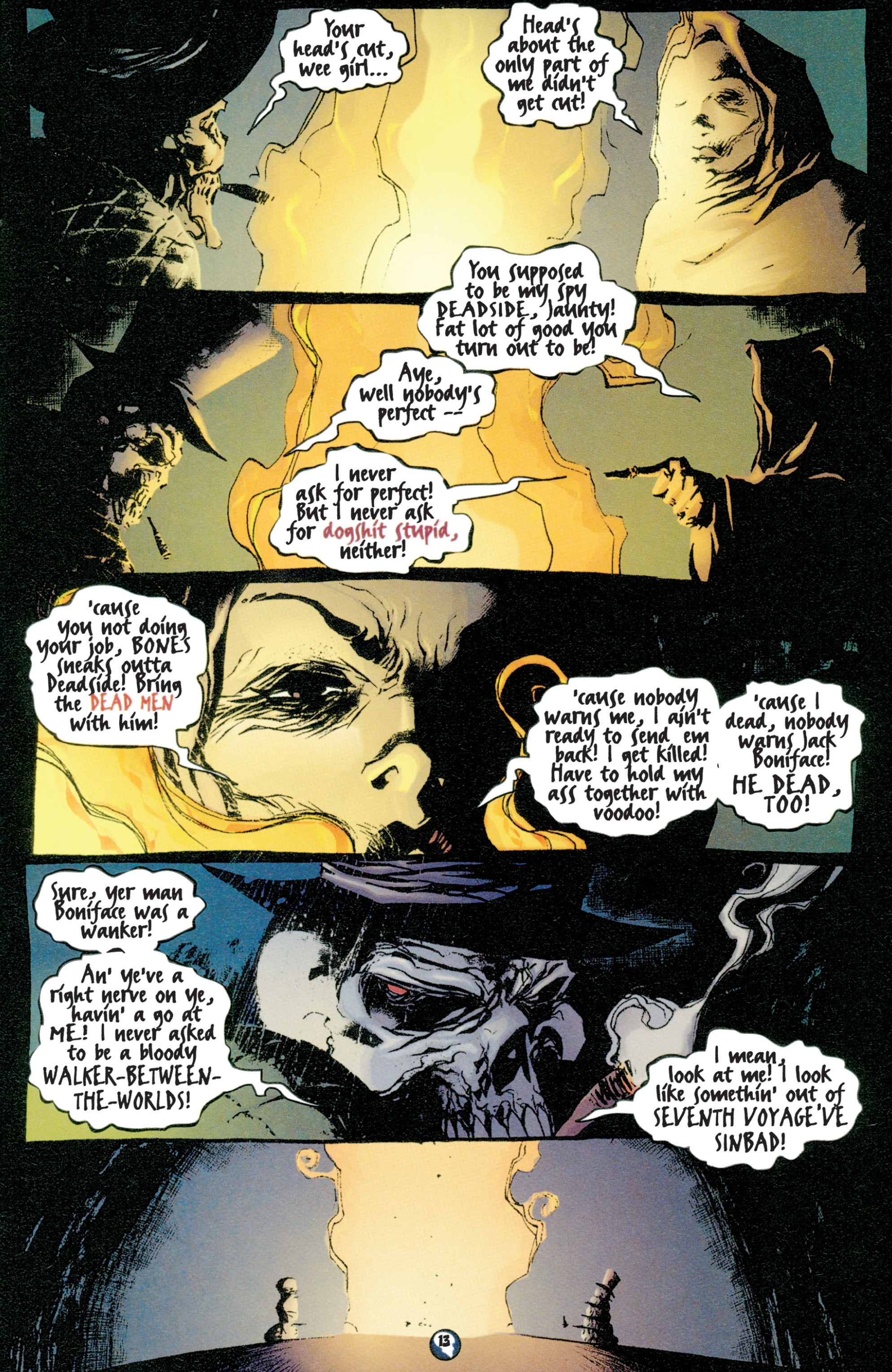 Read online Shadowman (1997) comic -  Issue #1 - 12