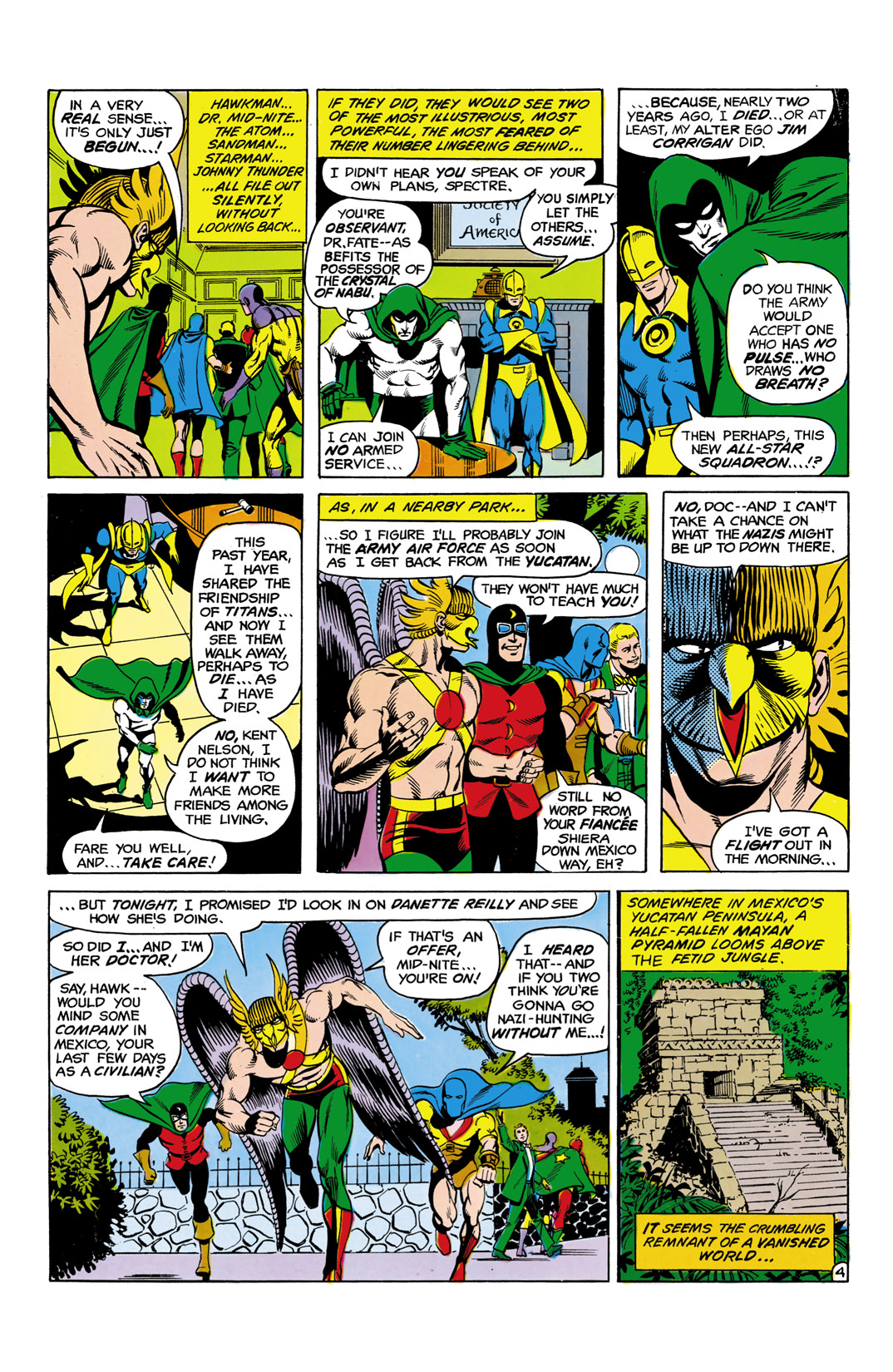 Read online All-Star Squadron comic -  Issue #5 - 5