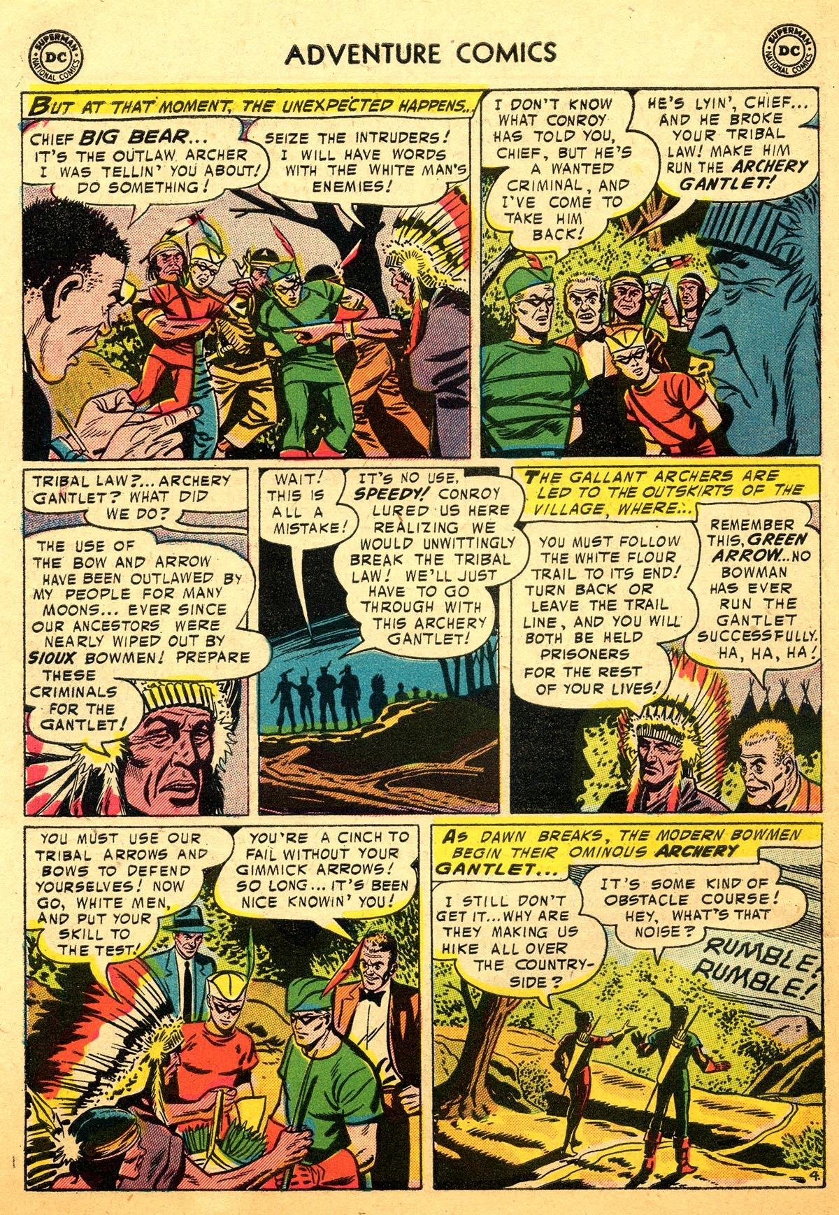 Read online Adventure Comics (1938) comic -  Issue #216 - 30