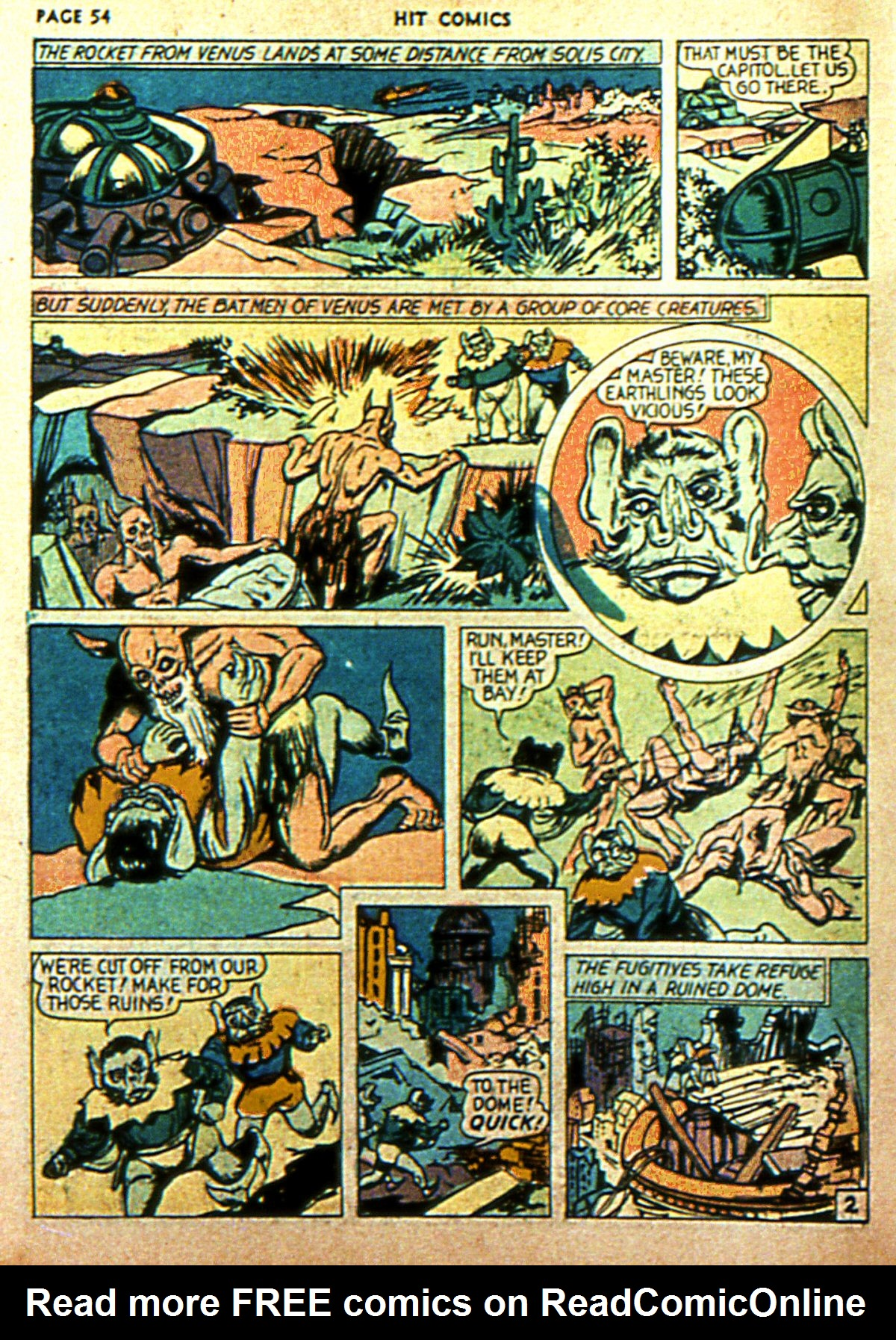 Read online Hit Comics comic -  Issue #2 - 56