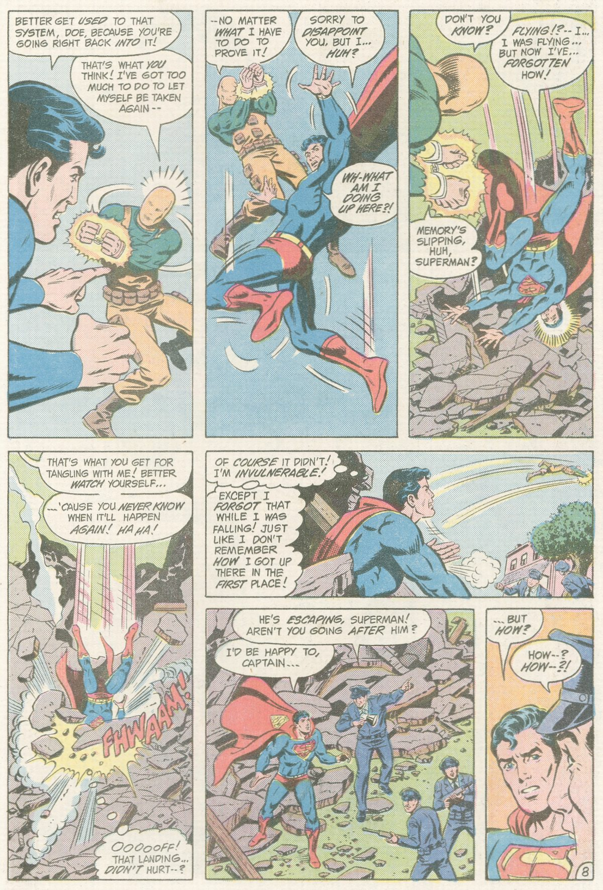 Read online Action Comics (1938) comic -  Issue #560 - 9