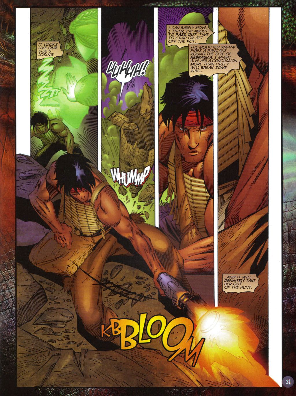 Read online Turok 2: Adon's Curse comic -  Issue # Full - 32