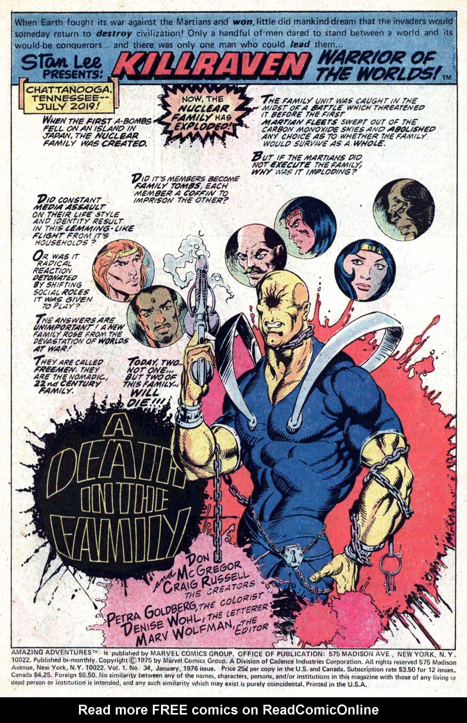 Read online Amazing Adventures (1970) comic -  Issue #34 - 3