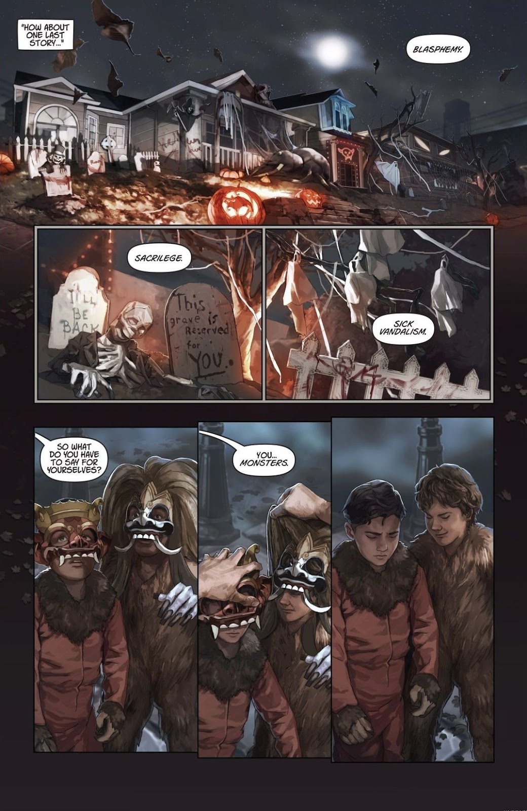 Read online Trick 'r Treat: Days of the Dead comic -  Issue # TPB - 103