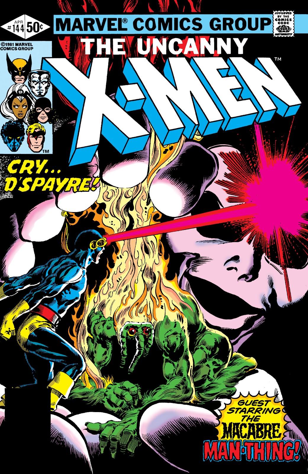 Uncanny X-Men (1963) issue 144 - Page 1