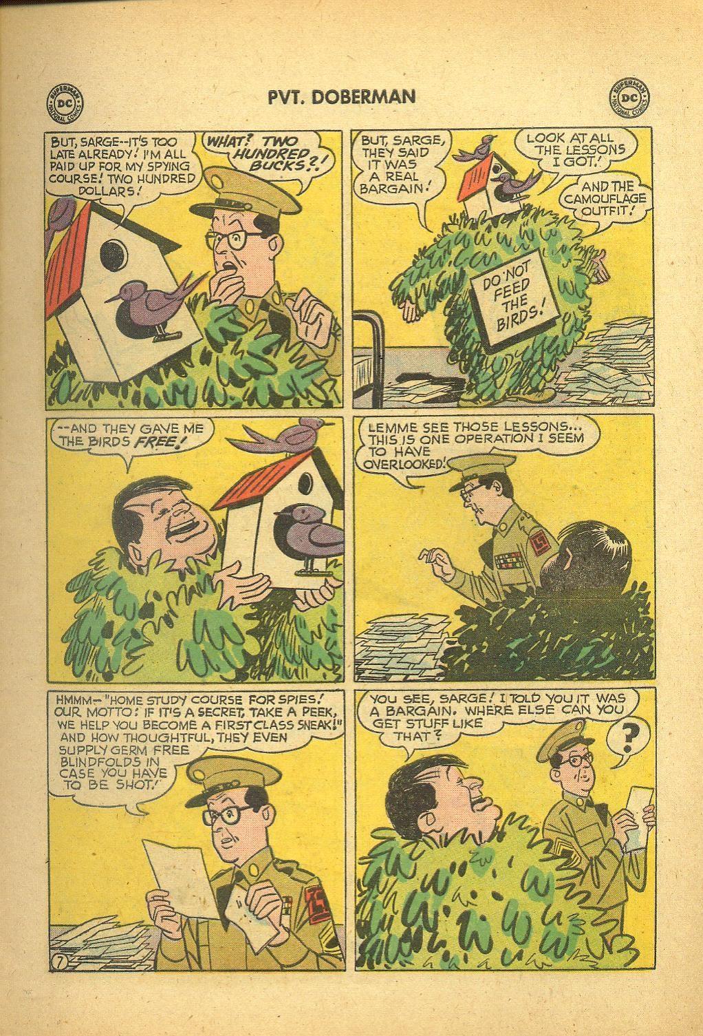 Sgt. Bilko's Pvt. Doberman issue 1 - Page 9