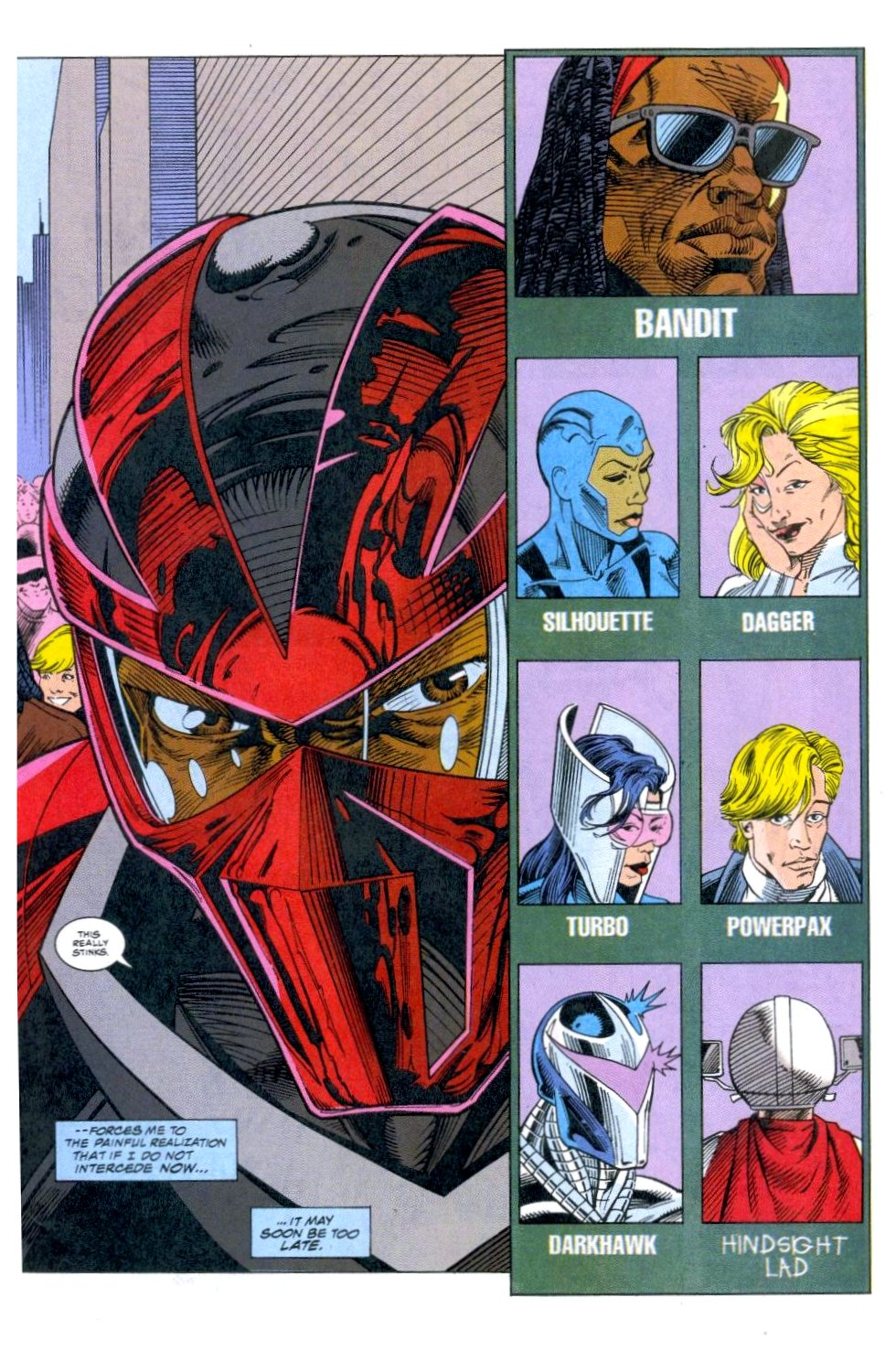 The New Warriors Issue #51 #55 - English 4