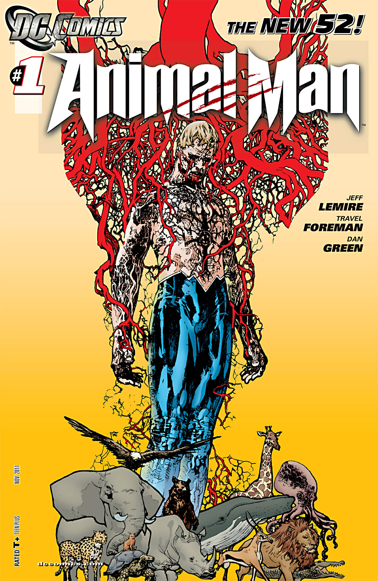 Read online Animal Man (2011) comic -  Issue #1 - 1