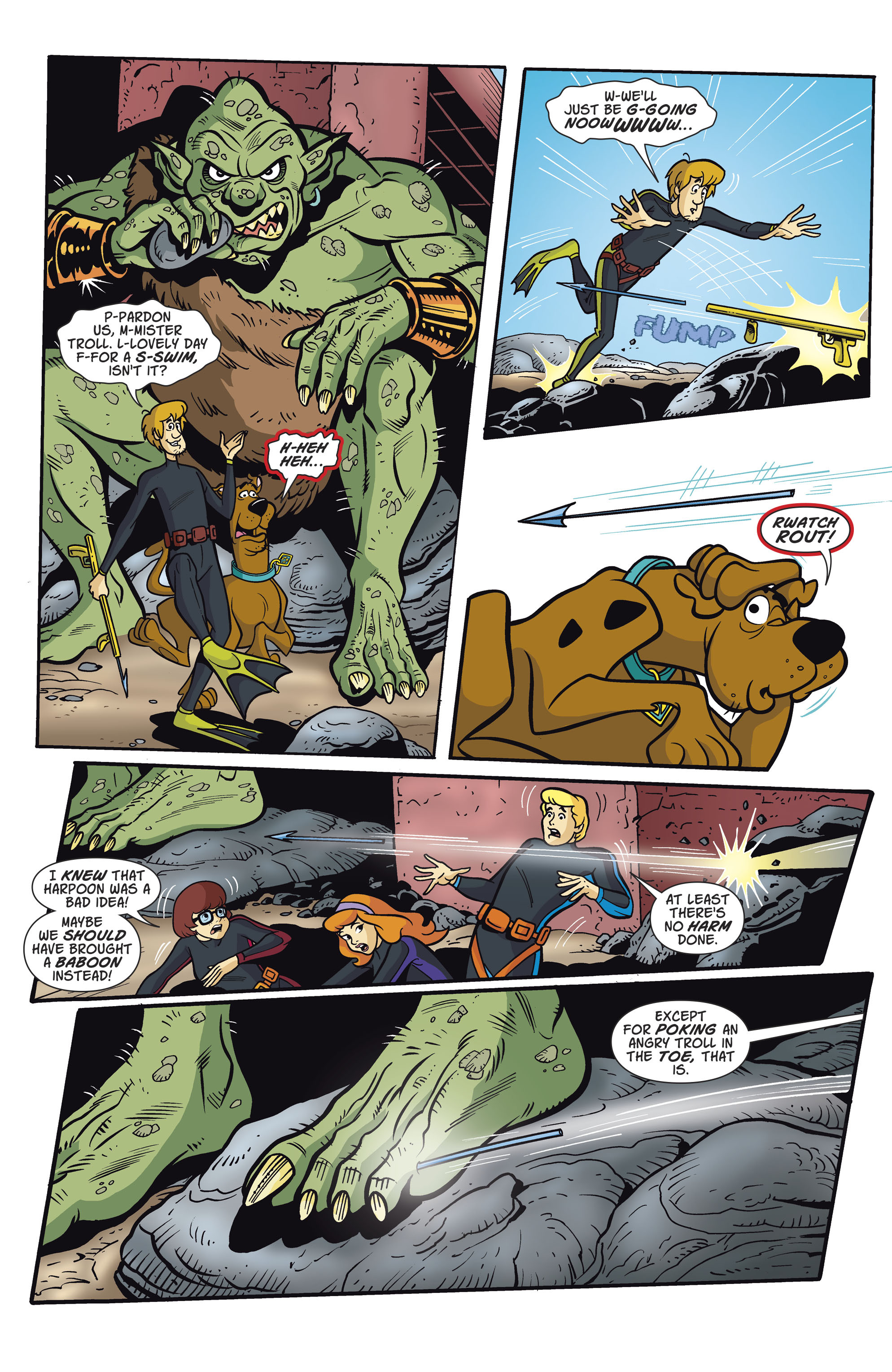 Read online Scooby-Doo: Where Are You? comic -  Issue #81 - 9