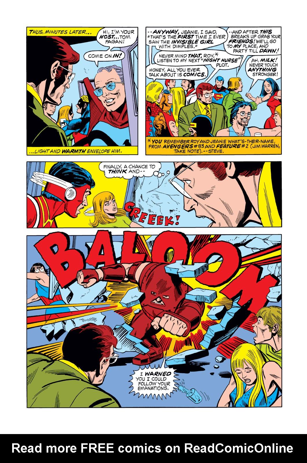 Read online Amazing Adventures (1970) comic -  Issue #16 - 16