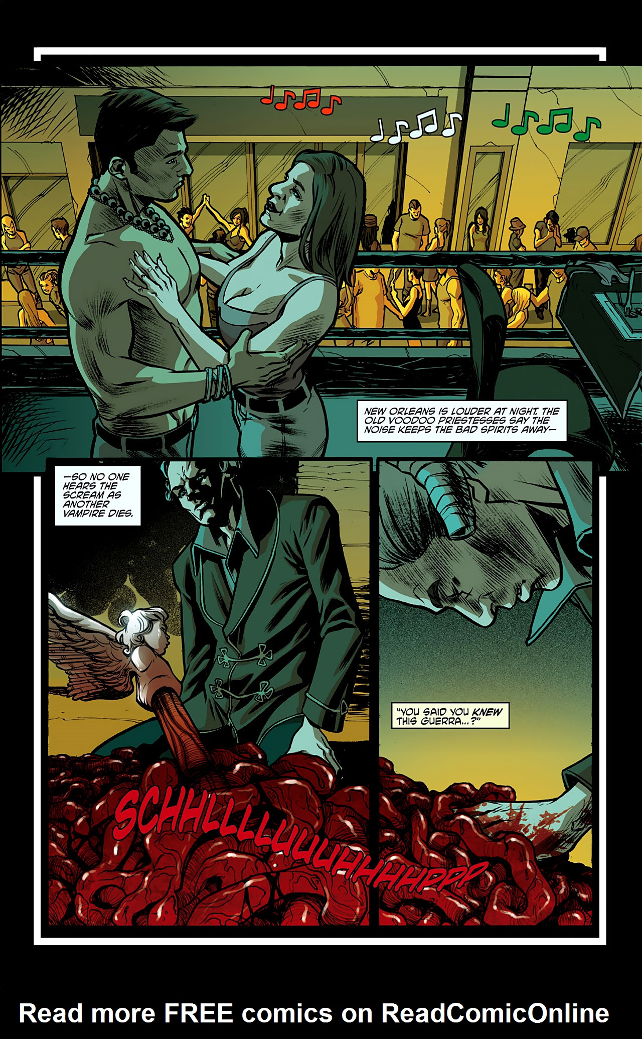 Read online True Blood: French Quarter comic -  Issue #2 - 12