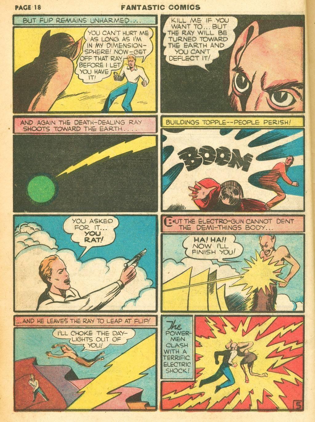 Read online Fantastic Comics comic -  Issue #12 - 20