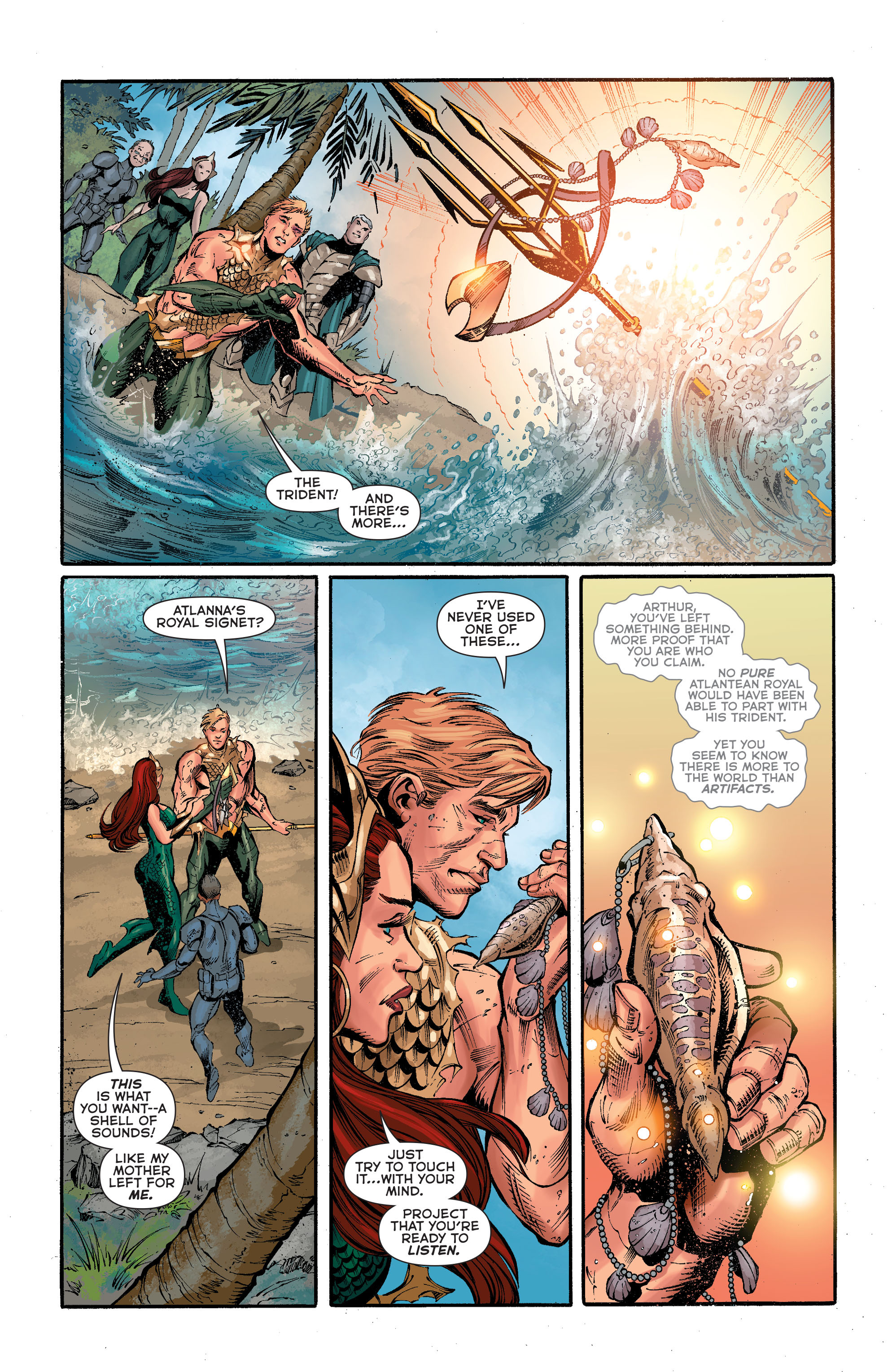 Read online Aquaman (2011) comic -  Issue #40 - 18