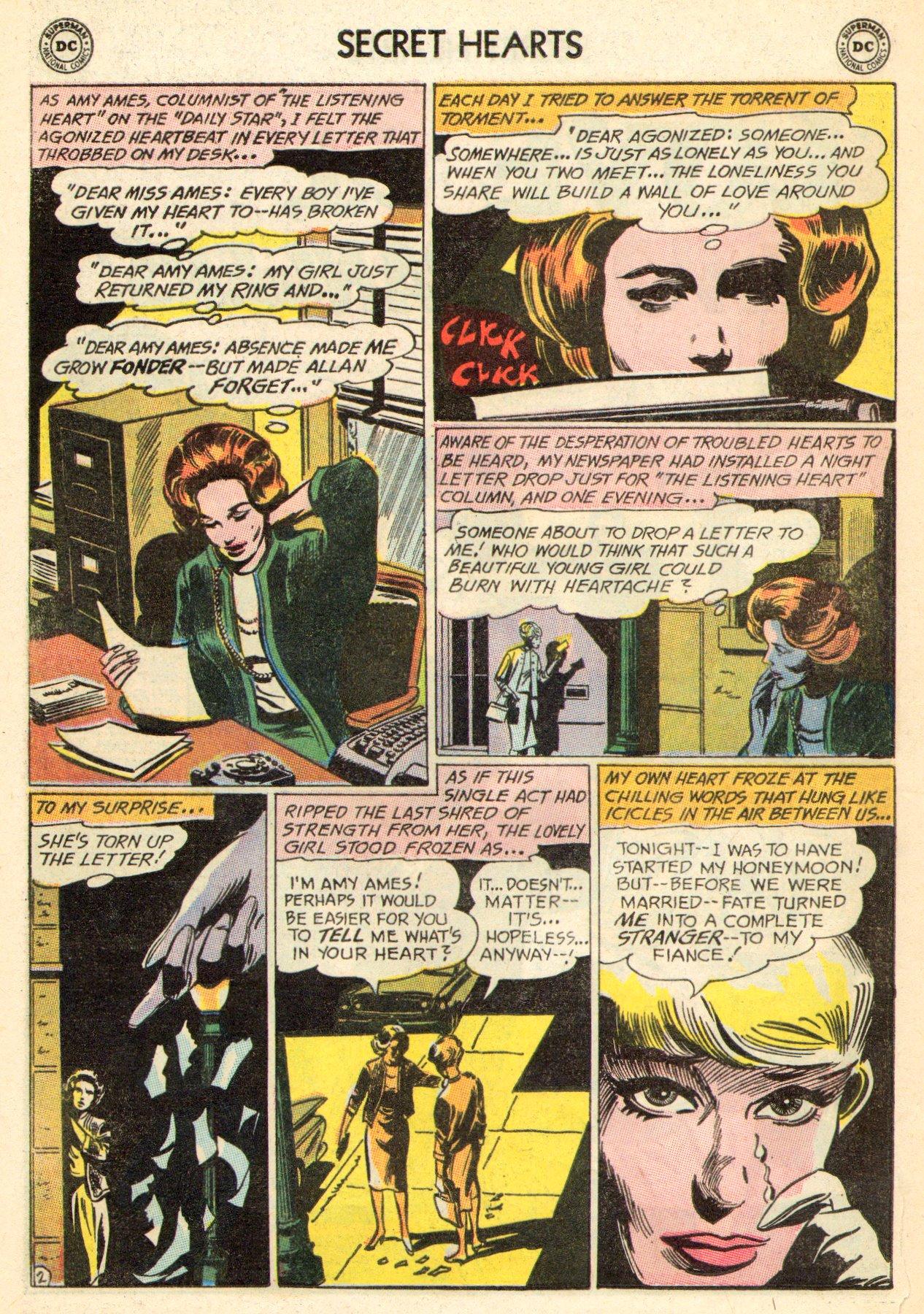 Read online Secret Hearts comic -  Issue #101 - 20
