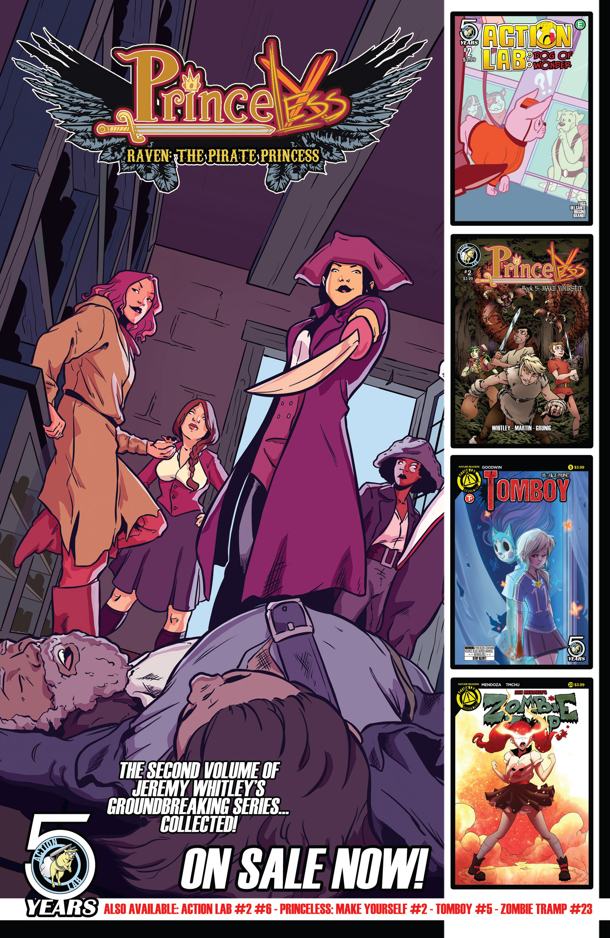 Read online Action Lab, Dog of Wonder comic -  Issue #2 - 25