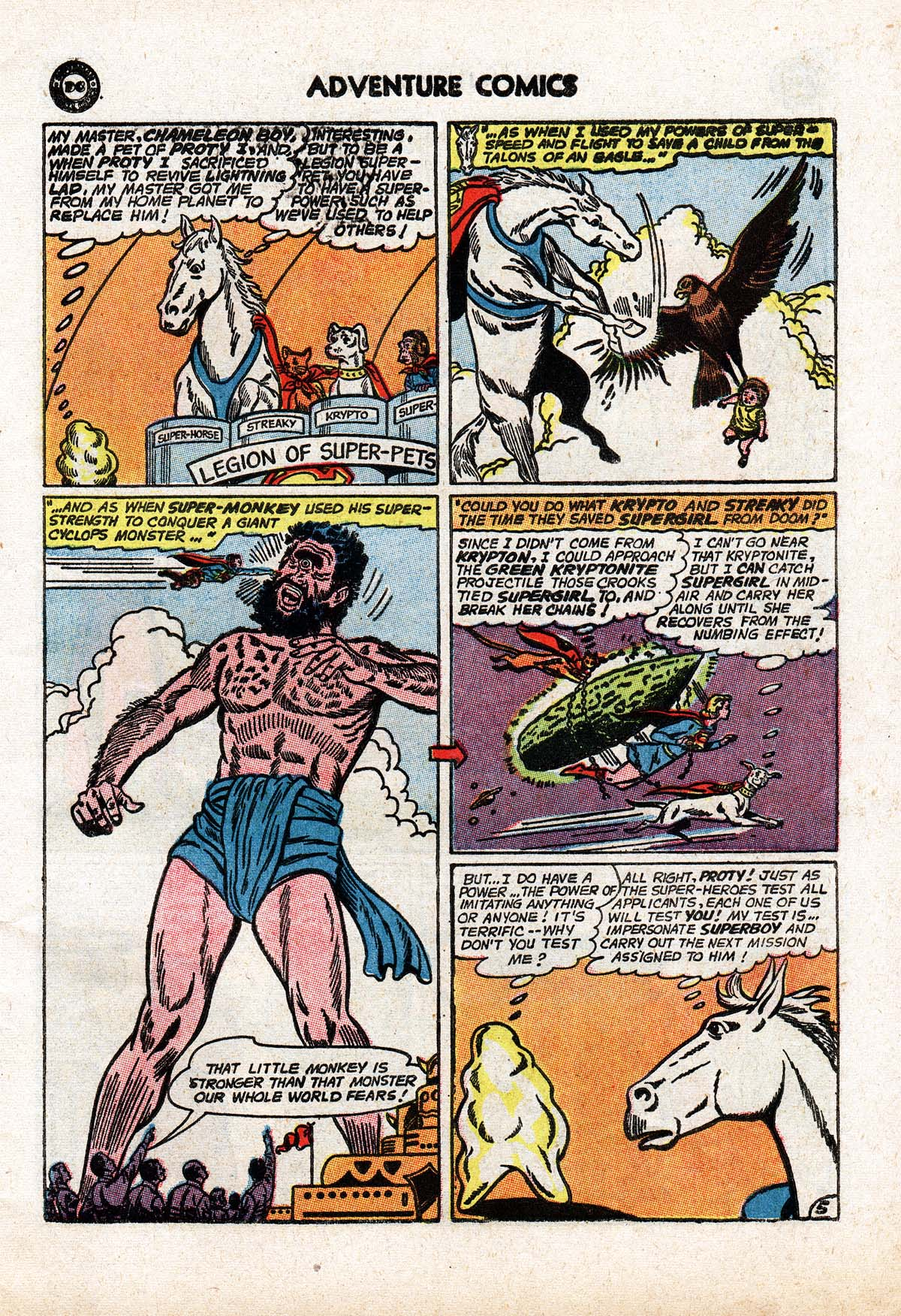 Read online Adventure Comics (1938) comic -  Issue #322 - 7