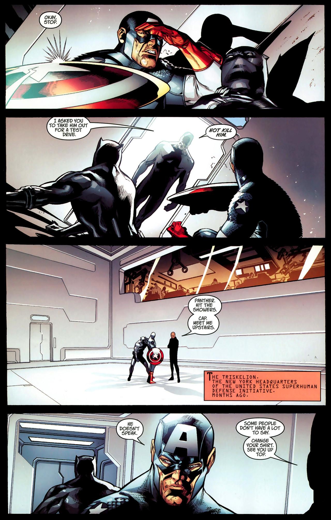 Read online Ultimate Captain America (2008) comic -  Issue # Full - 15