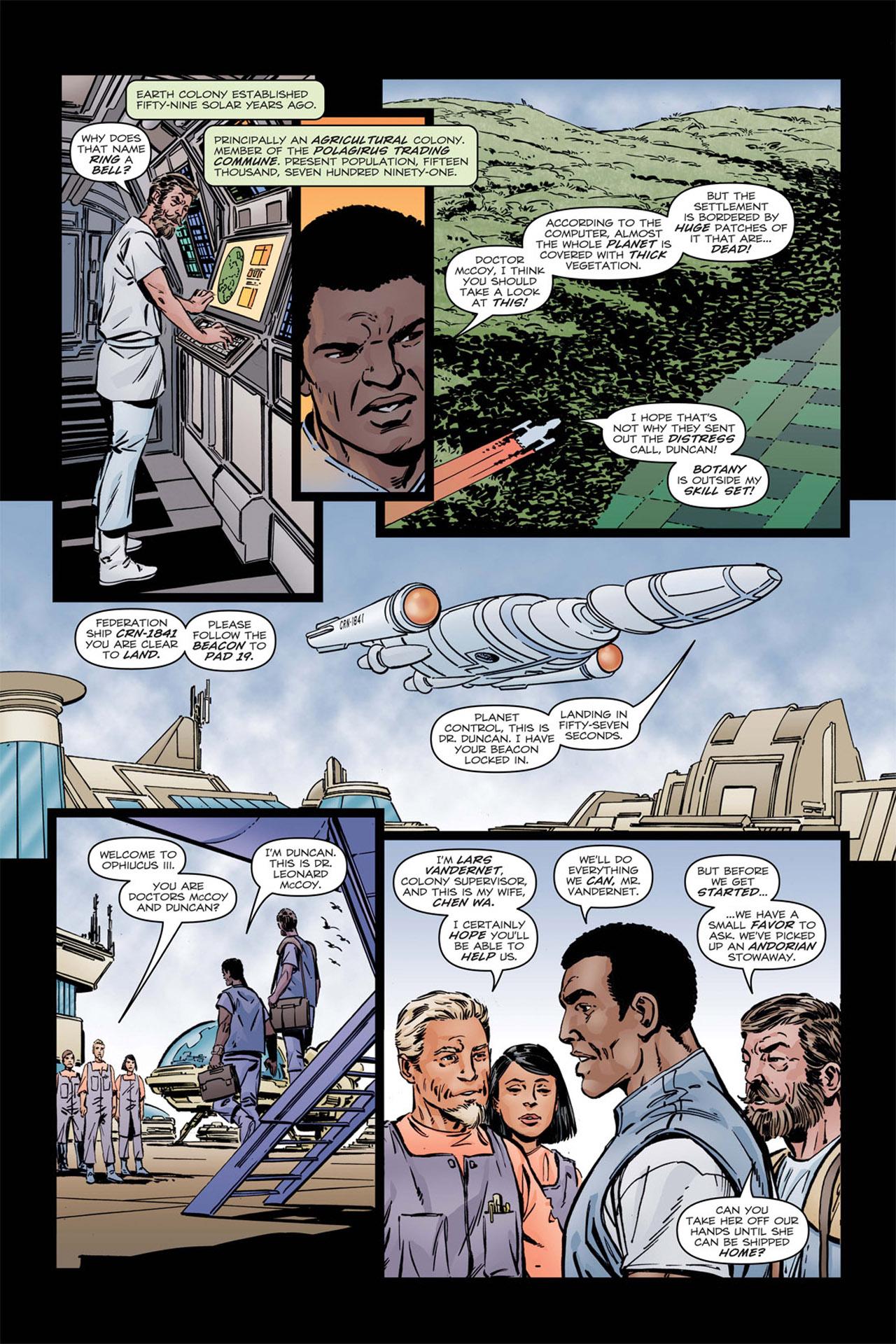 Read online Star Trek: Leonard McCoy, Frontier Doctor comic -  Issue #1 - 11