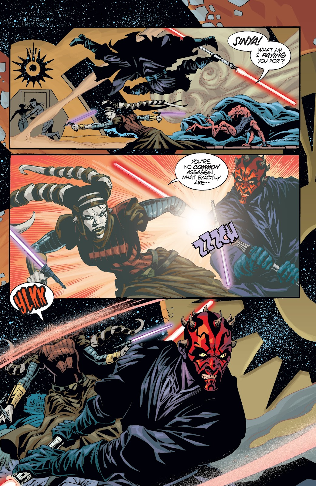Read online Star Wars Legends: Rise of the Sith - Epic Collection comic -  Issue # TPB 2 (Part 2) - 79