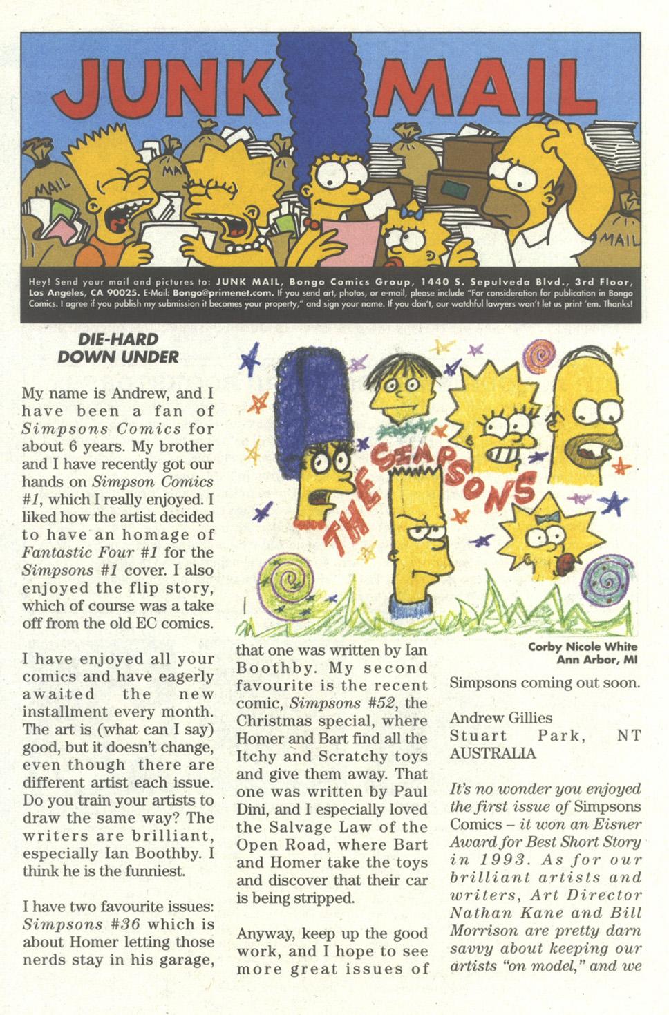 Read online Simpsons Comics comic -  Issue #56 - 27