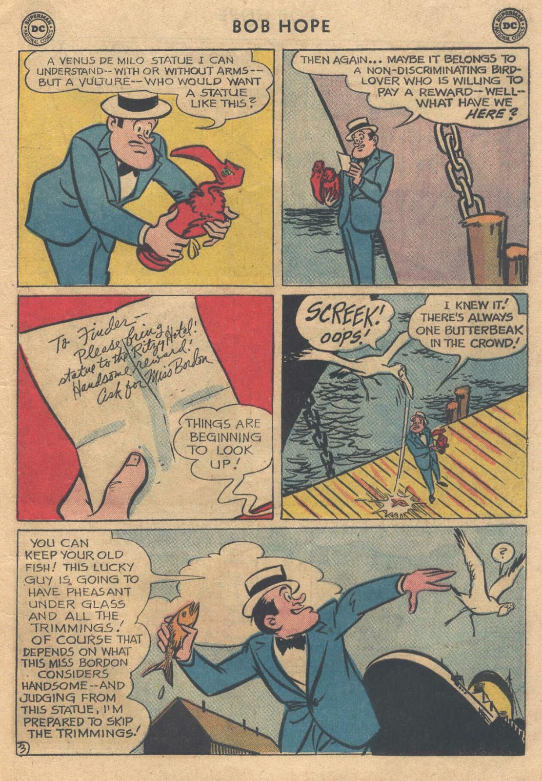 The Adventures of Bob Hope issue 76 - Page 5