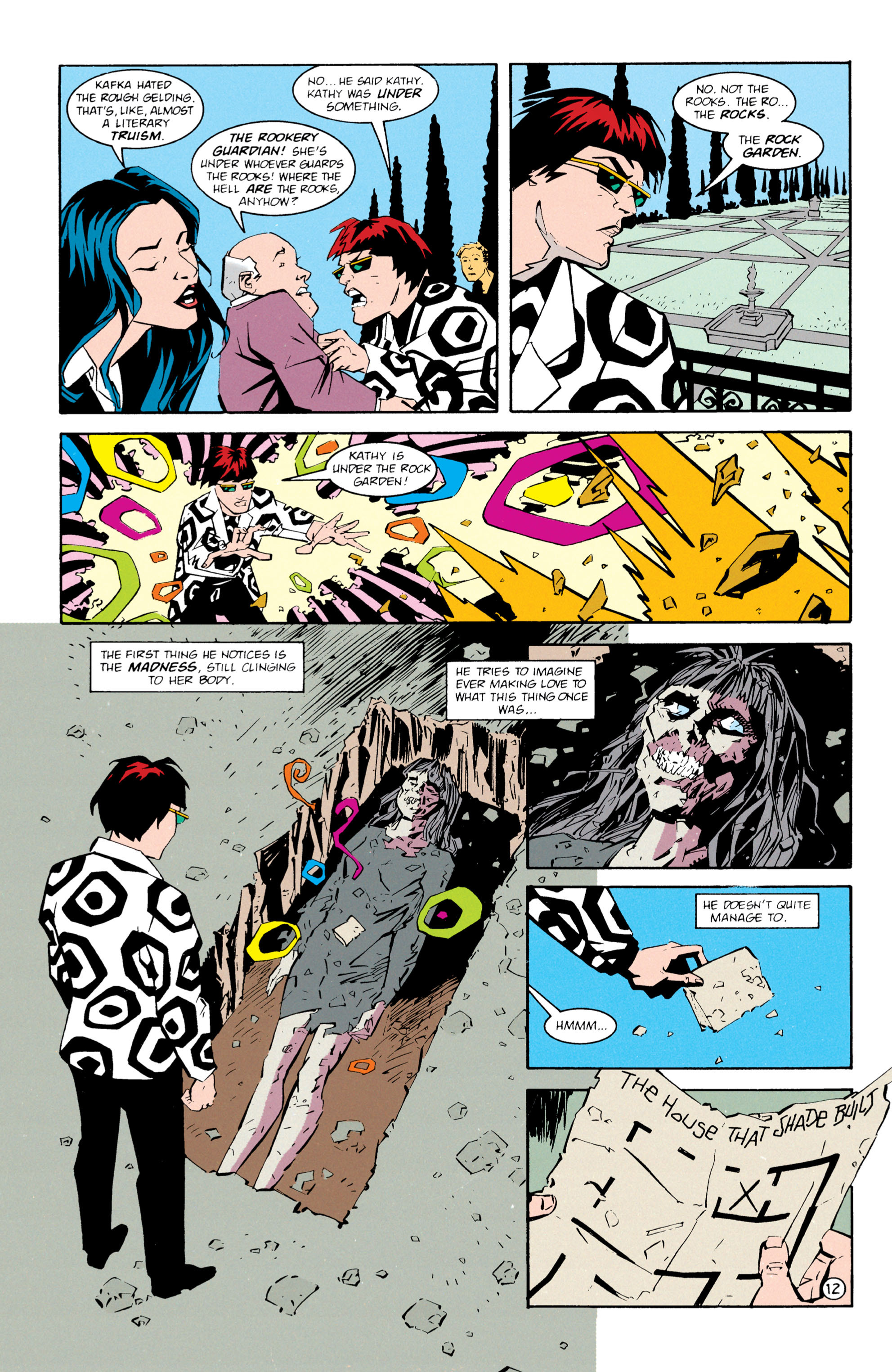 Read online Shade, the Changing Man comic -  Issue #61 - 13