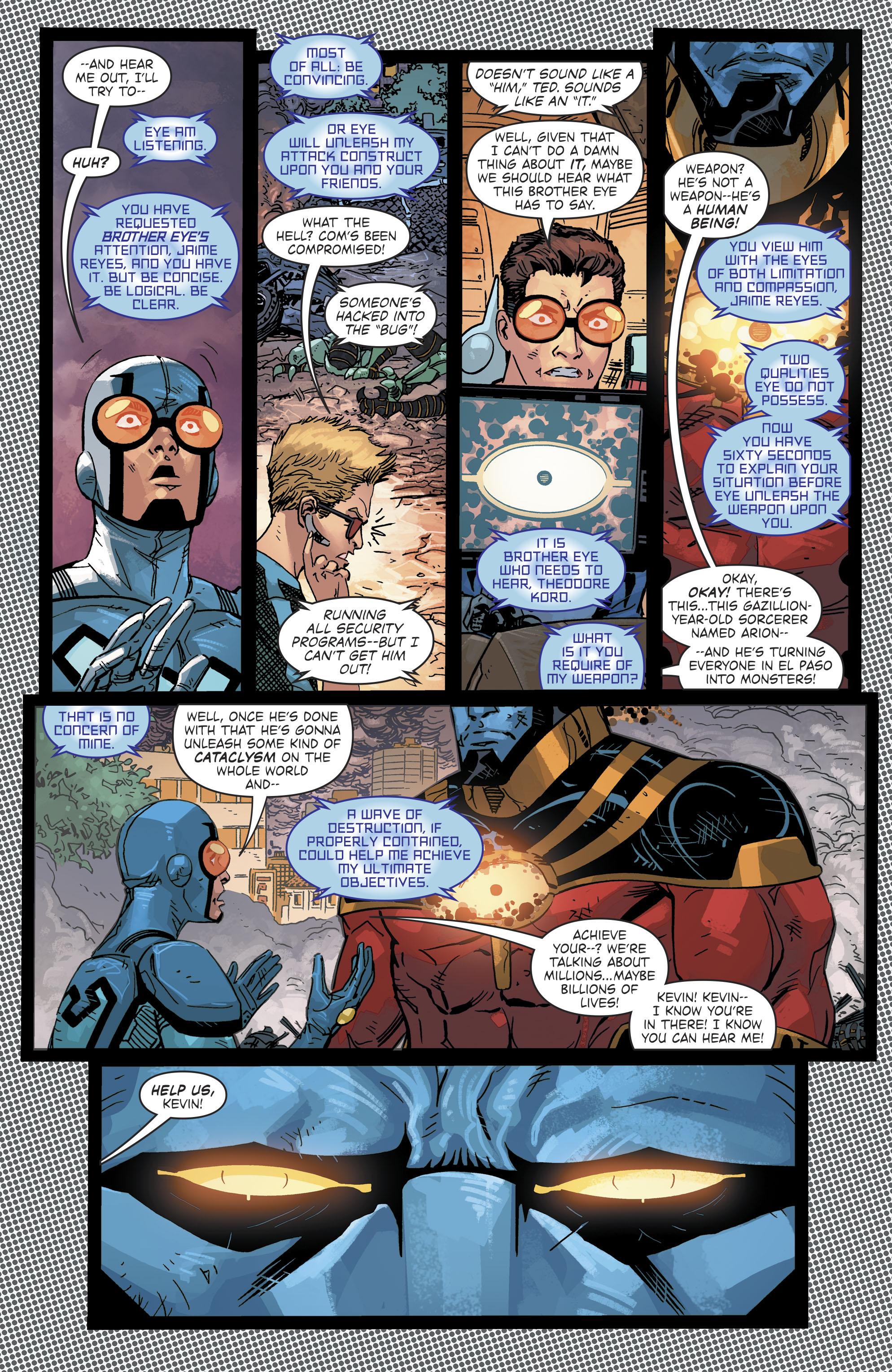 Read online Blue Beetle (2016) comic -  Issue #9 - 11