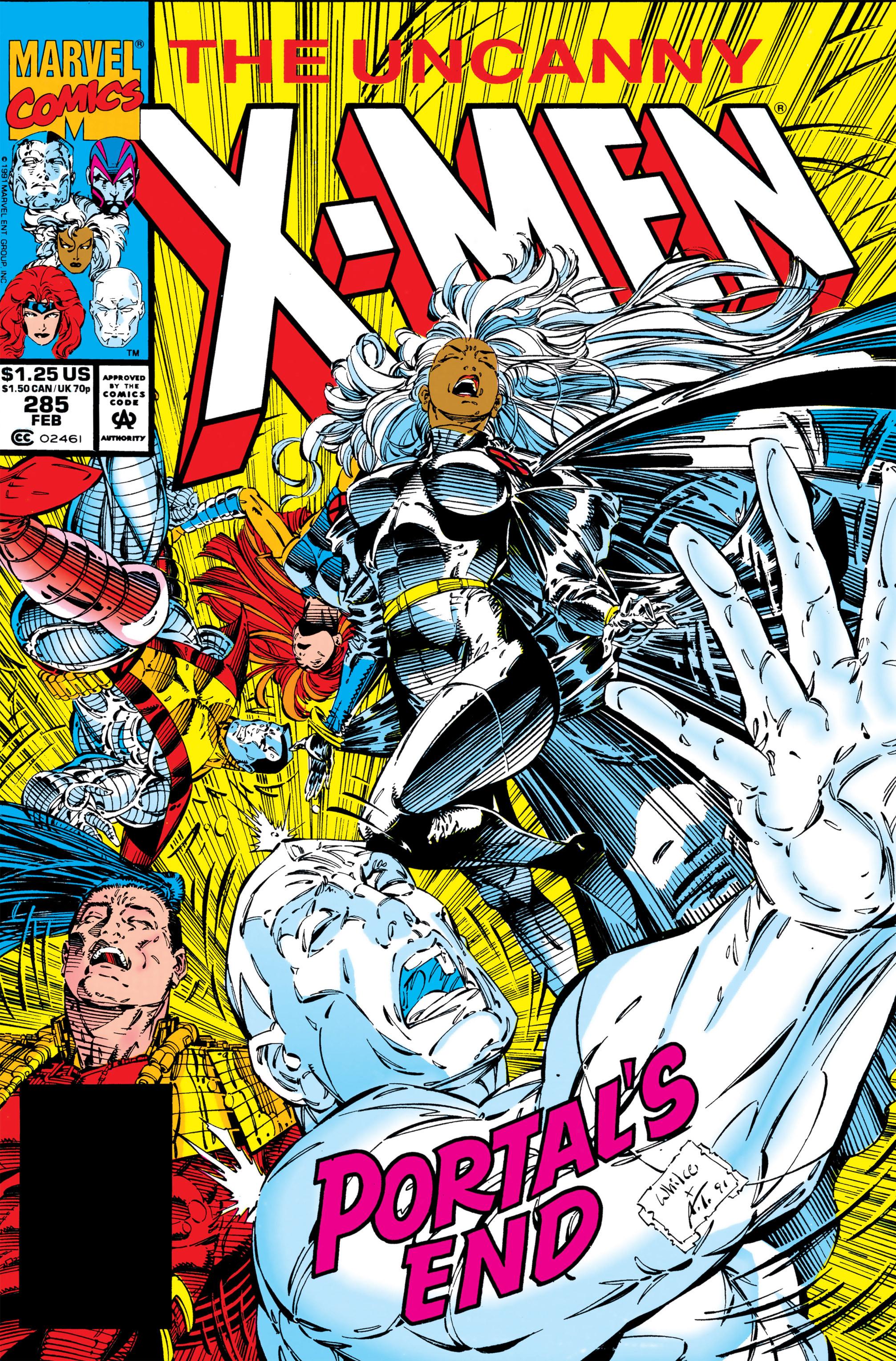 Uncanny X-Men (1963) 285 Page 1