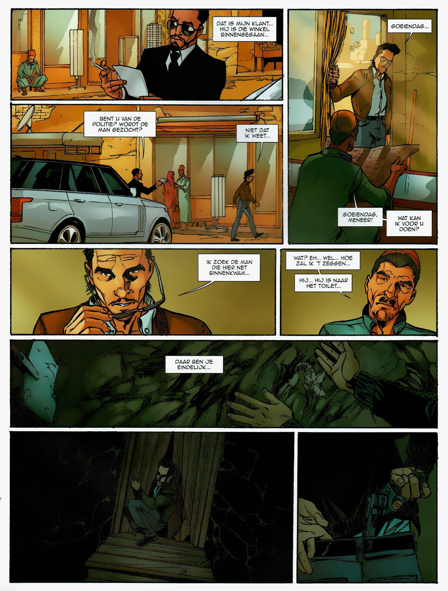 Read online Assassin's Creed (2009) comic -  Issue #6 - 46