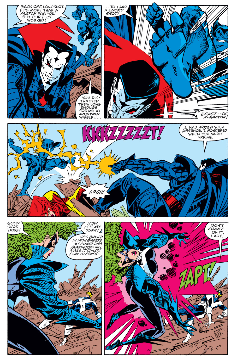 Read online X-Factor (1986) comic -  Issue #39 - 4